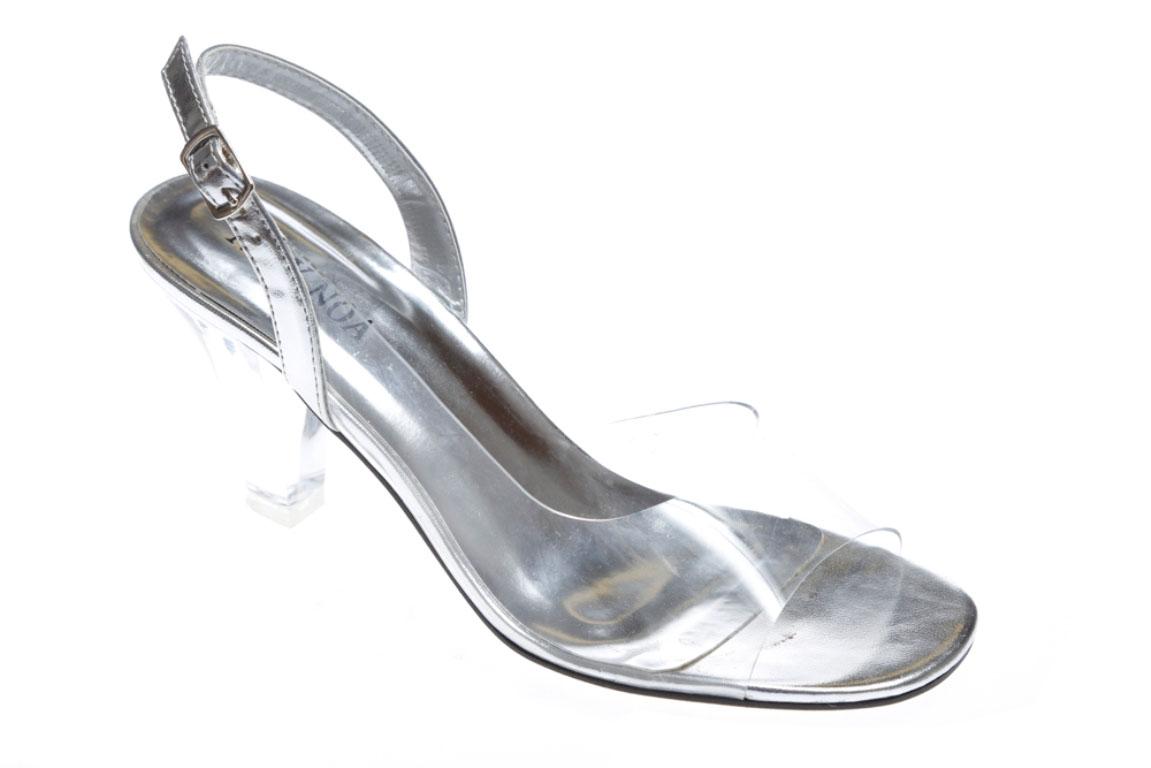 womens clear pvc sr2998 comfortable dress sandal