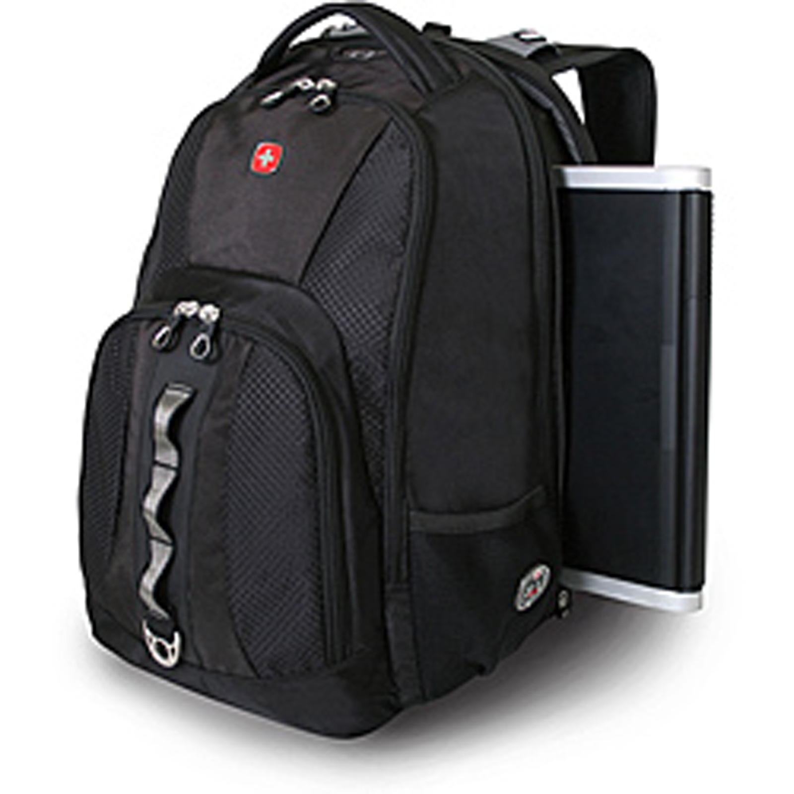 swiss gear mens black travel gear scan smart 17 laptop