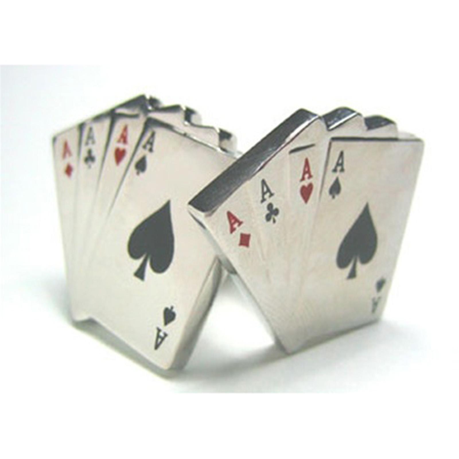 Casino cufflinks