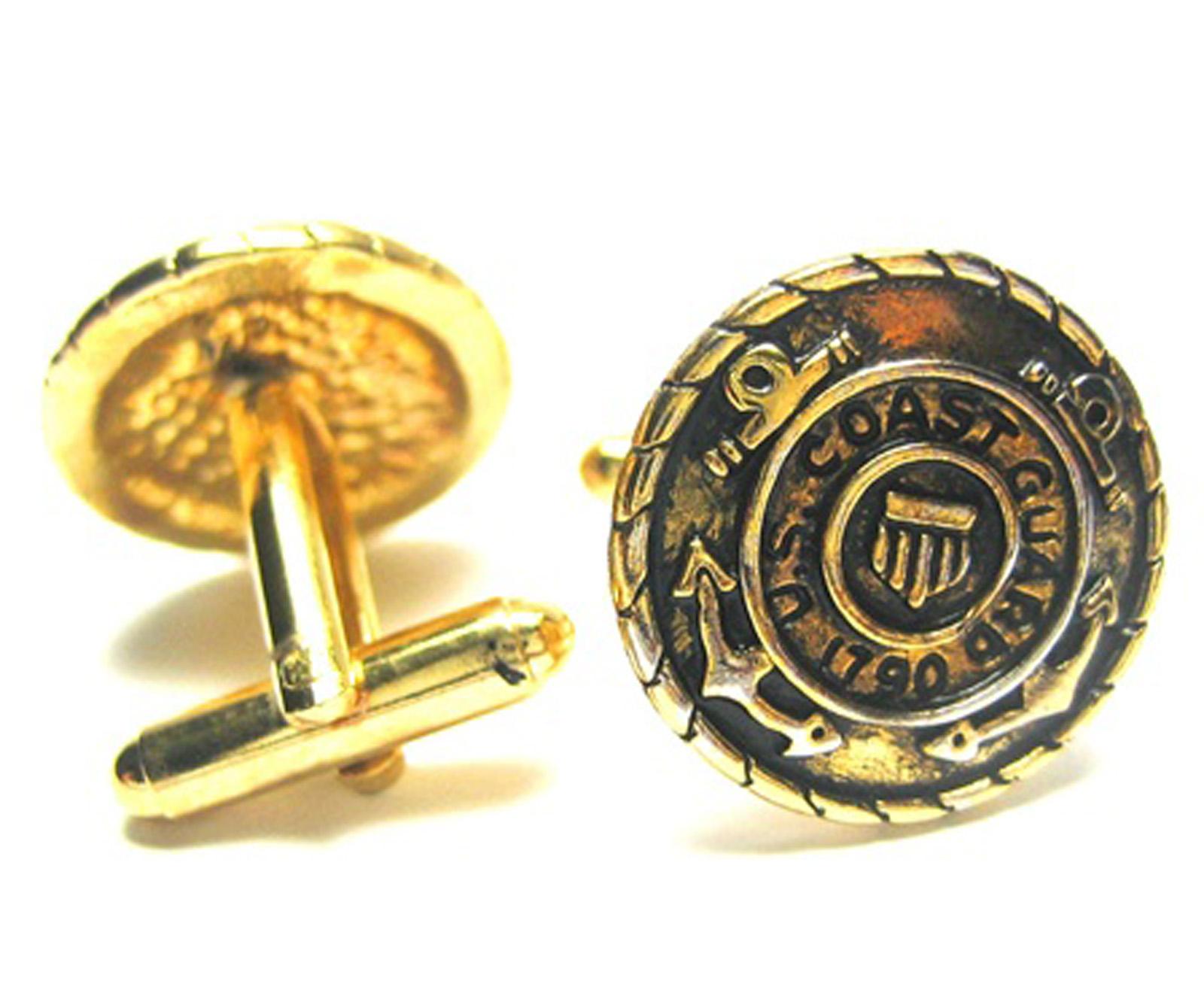 CuffCrazy Gold Tone US Coast Guard Cufflinks at Sears.com