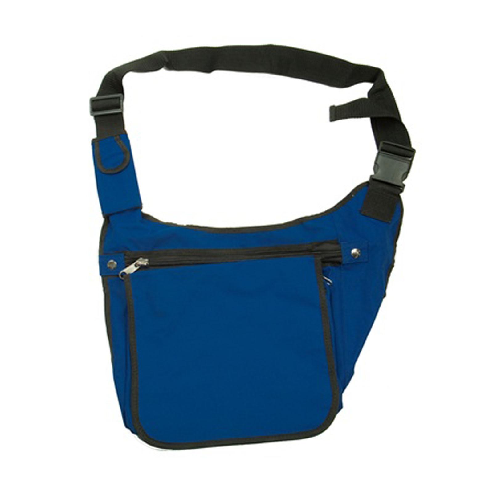 Royal Blue Messenger Tote Book Bike Backpack Bike Bag