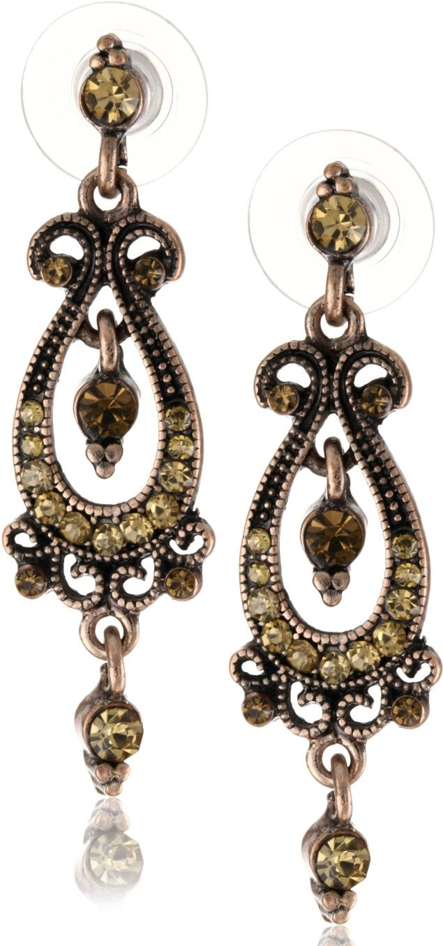 1928 jewelry vintage topaz moroccan lantern