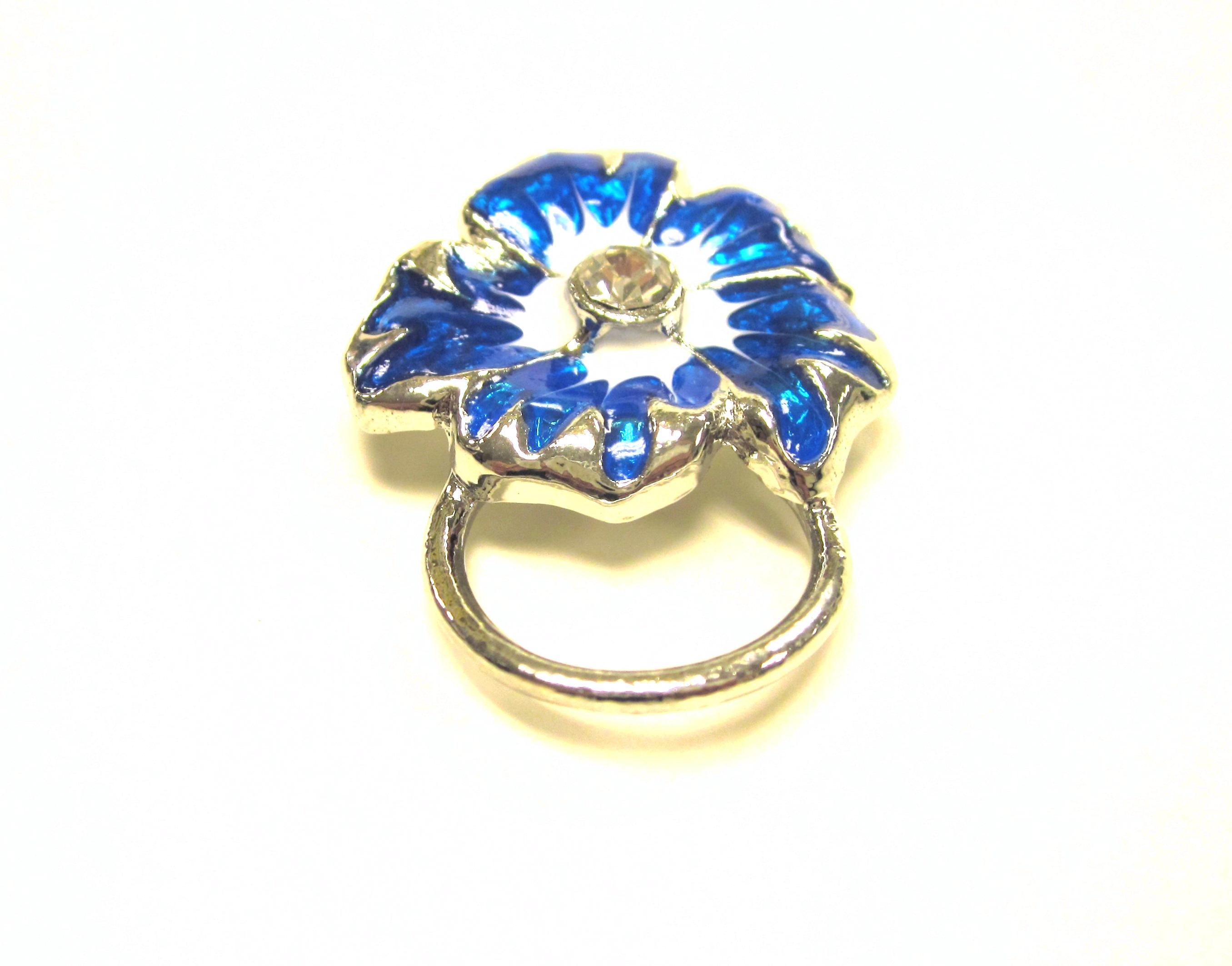 buy eyeglasses online  blue flower eye