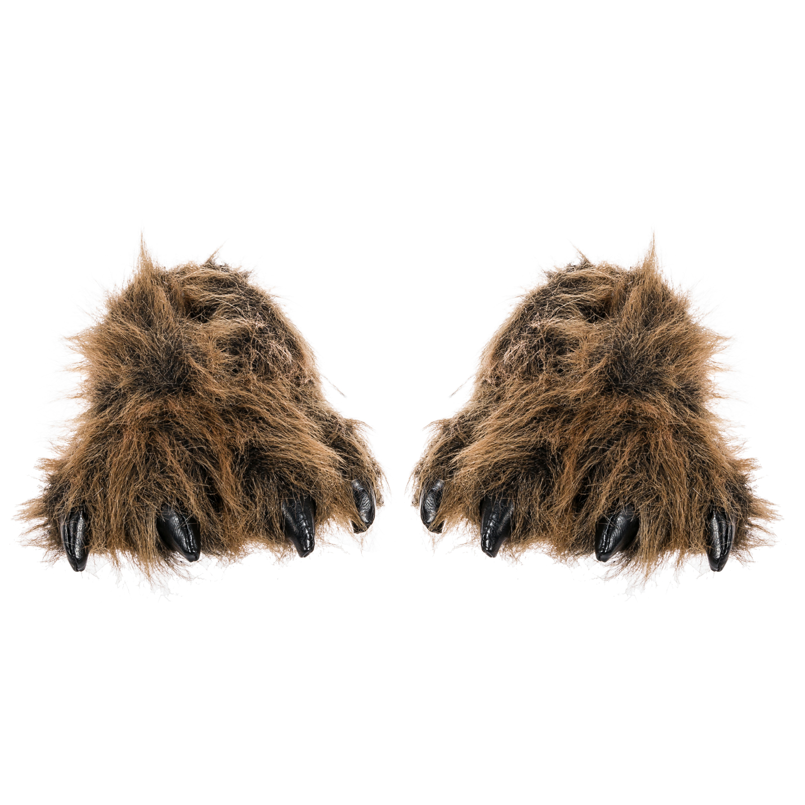 Wishpets Brown Grizzly Bear Animal Paw Plush Fuzzy ...