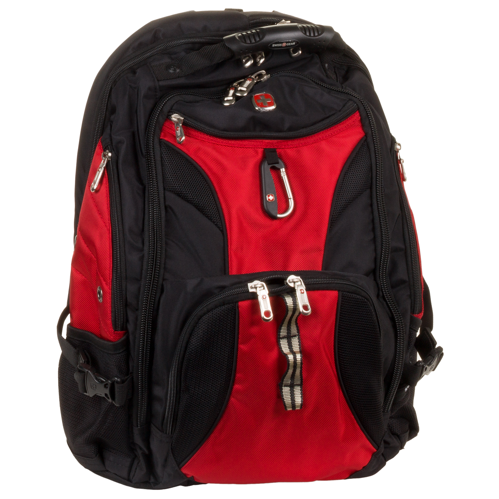 "Swiss Gear 17"" Red Travel Gear Smart Scan Laptop Backpack Bookbag ..."