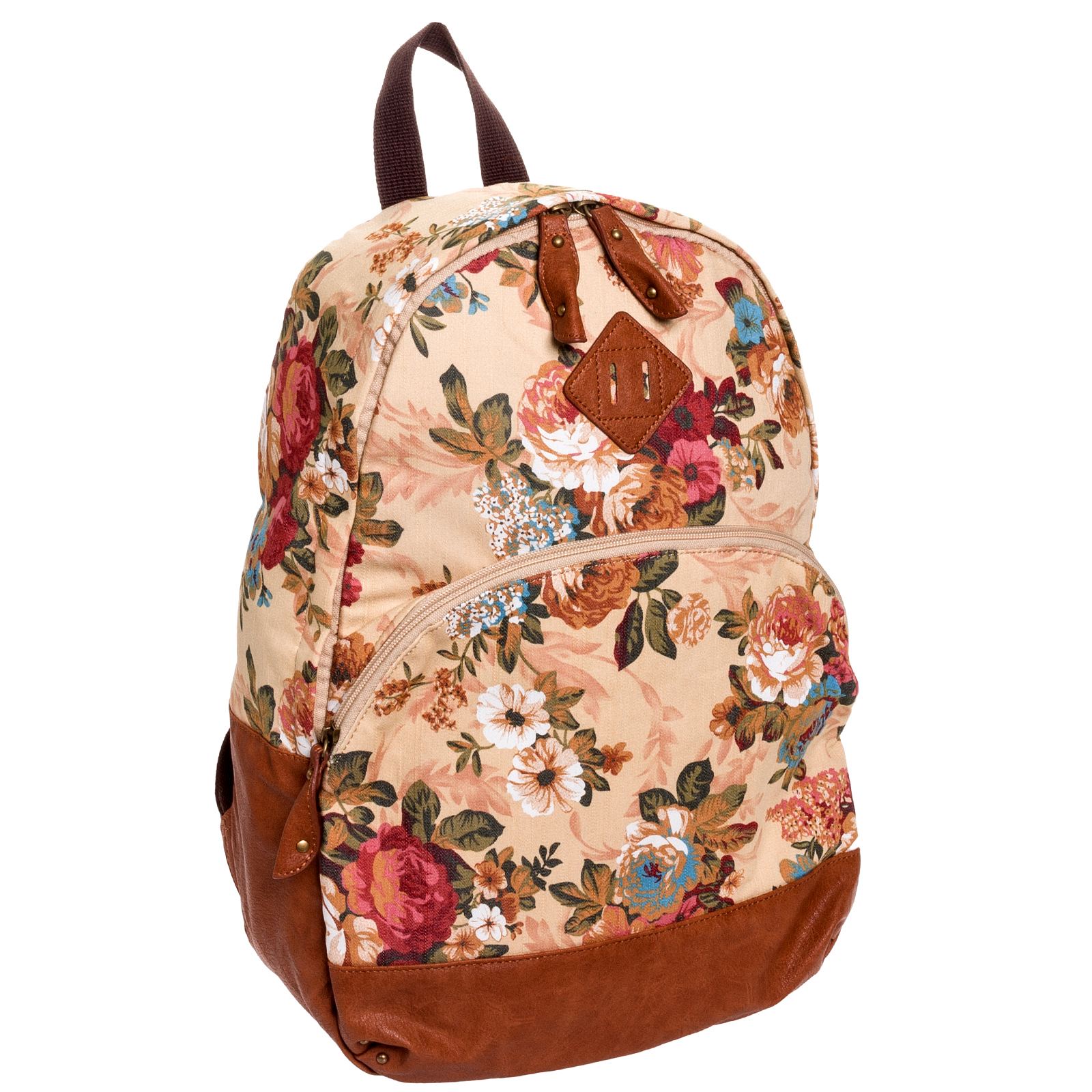 70560311f655 Cute Floral Print Backpacks- Fenix Toulouse Handball