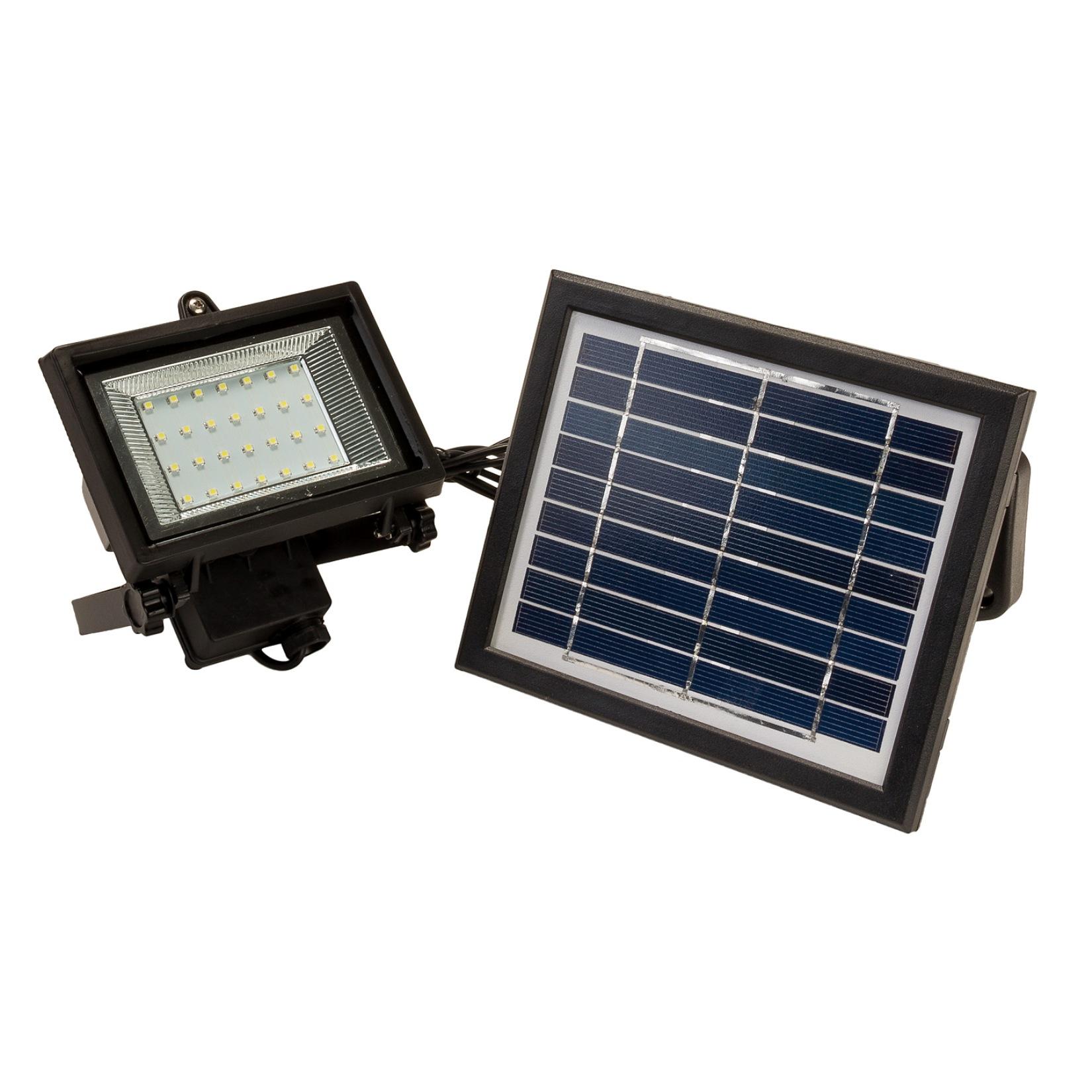 Solar Operated Flood Lights : Led solar powered flood light
