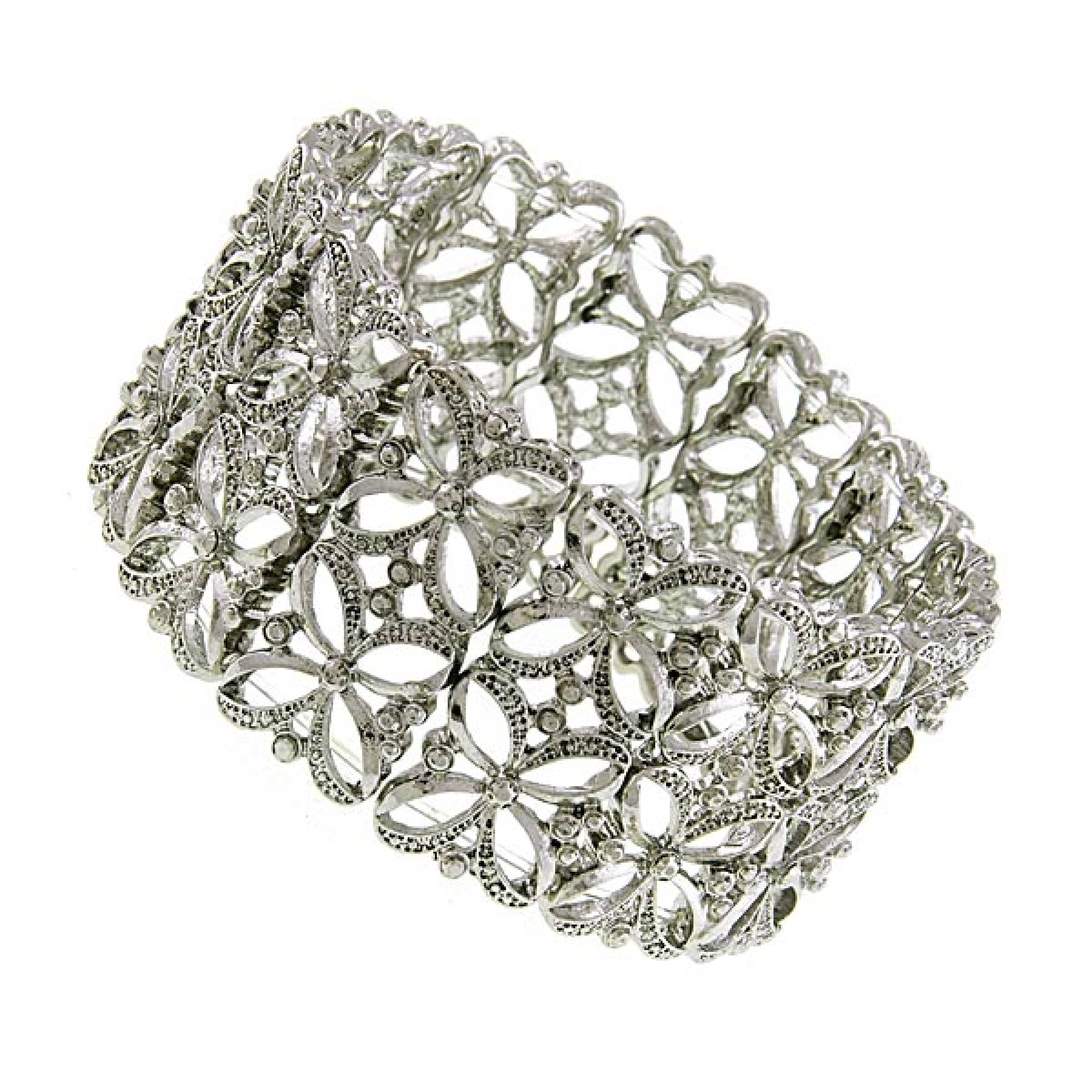 1928 Jewelry Vintage Inspired Lace Stretch Cuff Bracelet at Sears.com
