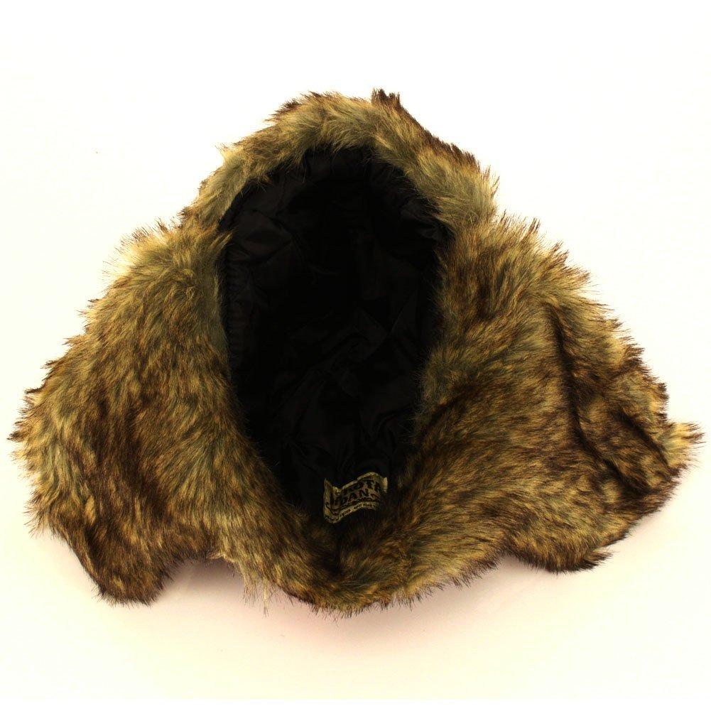 dakota dan trooper ear flap winter bomber cap w faux fur lining hat new nwt ebay. Black Bedroom Furniture Sets. Home Design Ideas