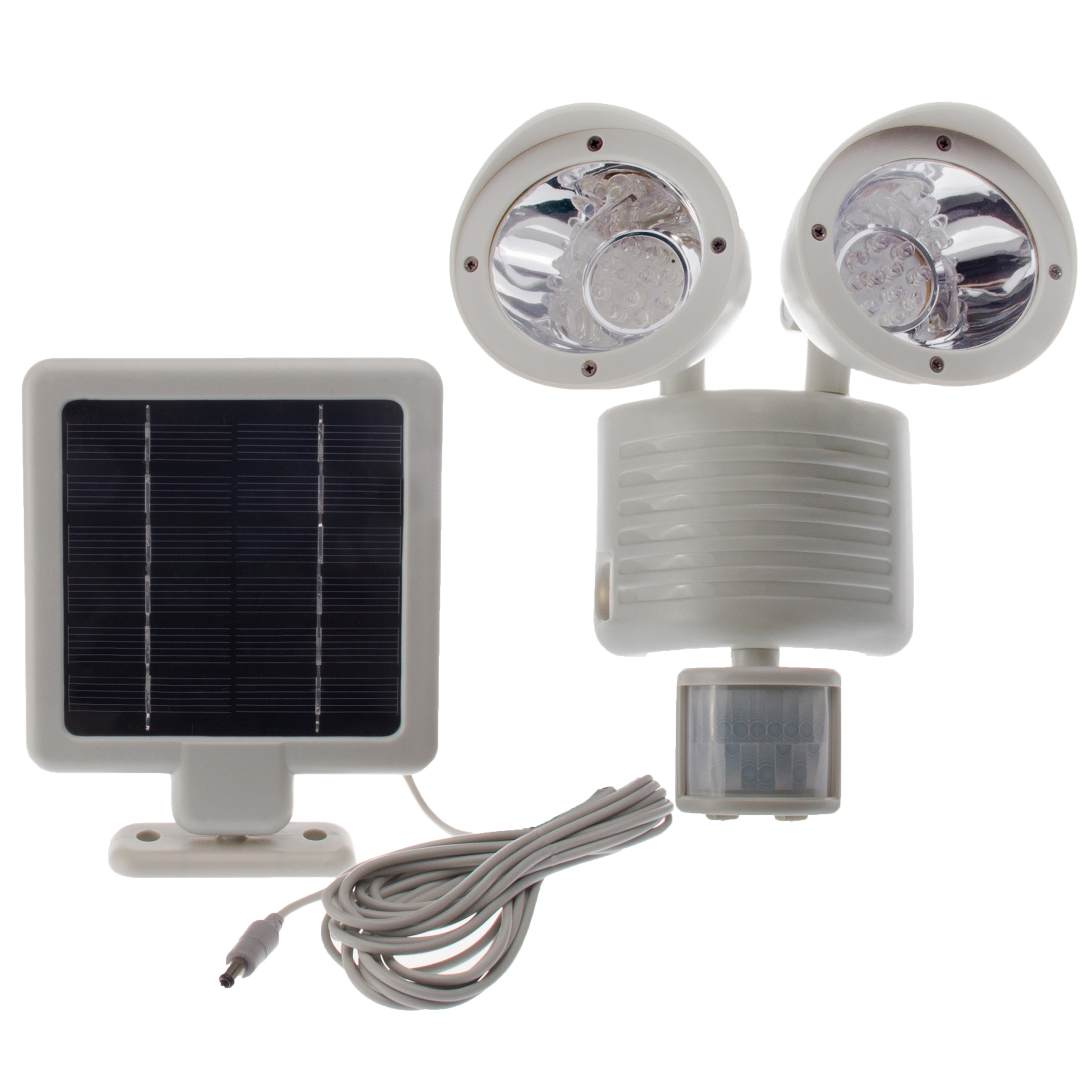 22 led solar power motion sensor pir outdoor security. Black Bedroom Furniture Sets. Home Design Ideas