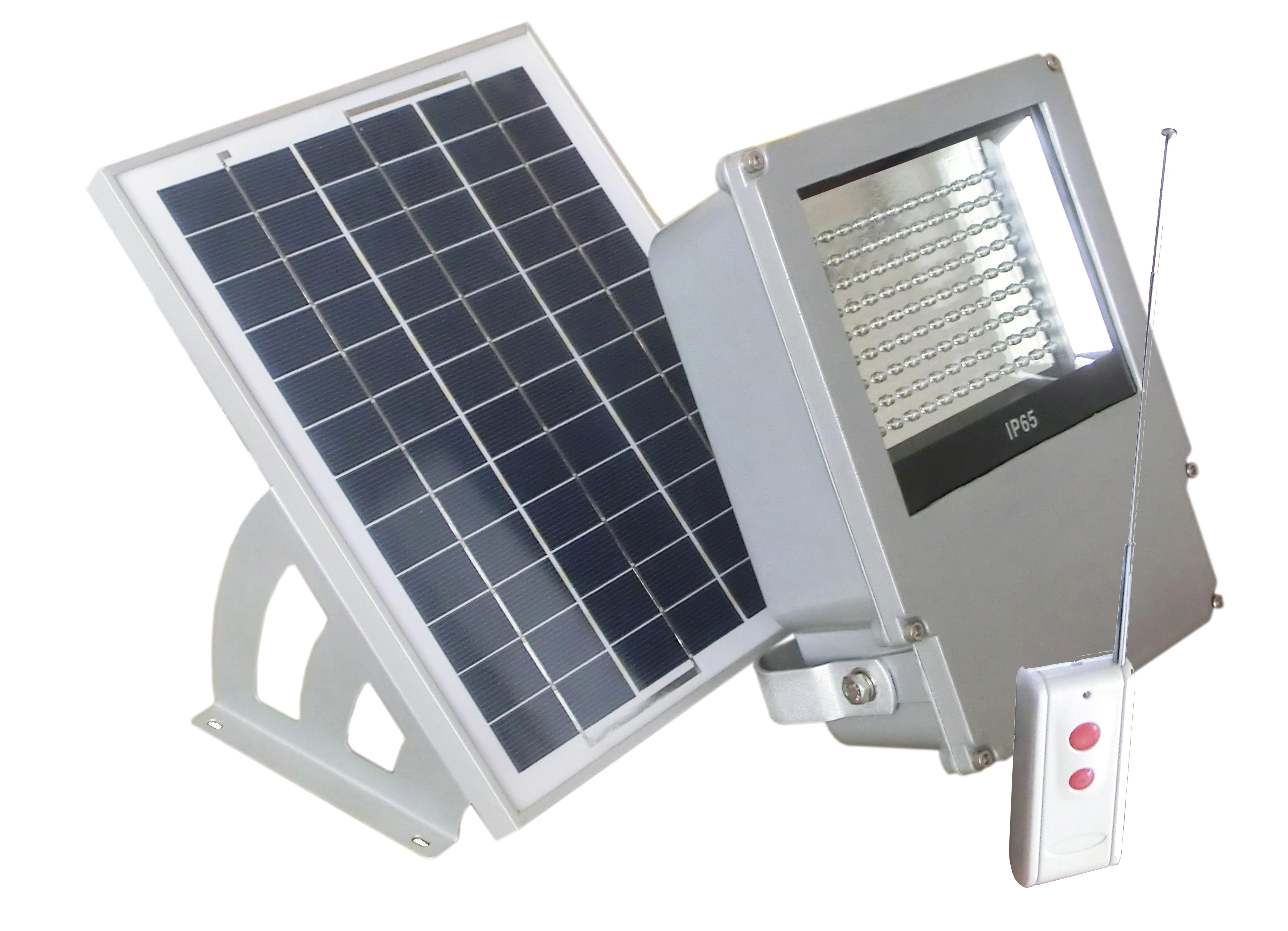108 Led Outdoor Solar Powered Wall Mount Flood Light With Remote Ebay