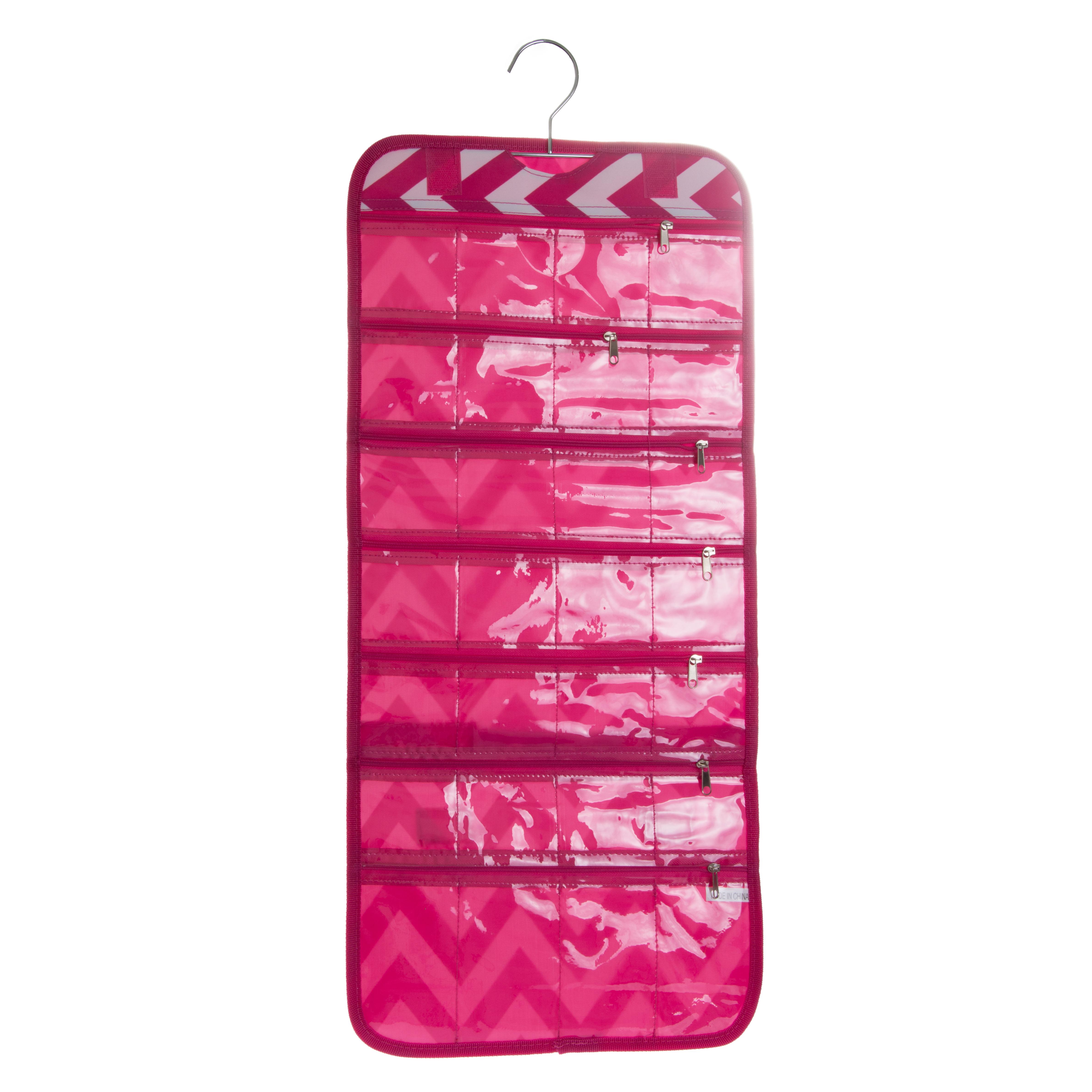 womens hanging jewelry bag travel storage one size new