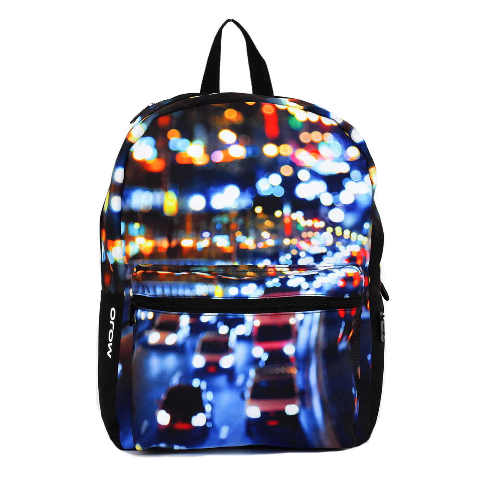 Mojo City Streets Hi-Def Print Water Resistant Backpack Bag (Black) at Sears.com