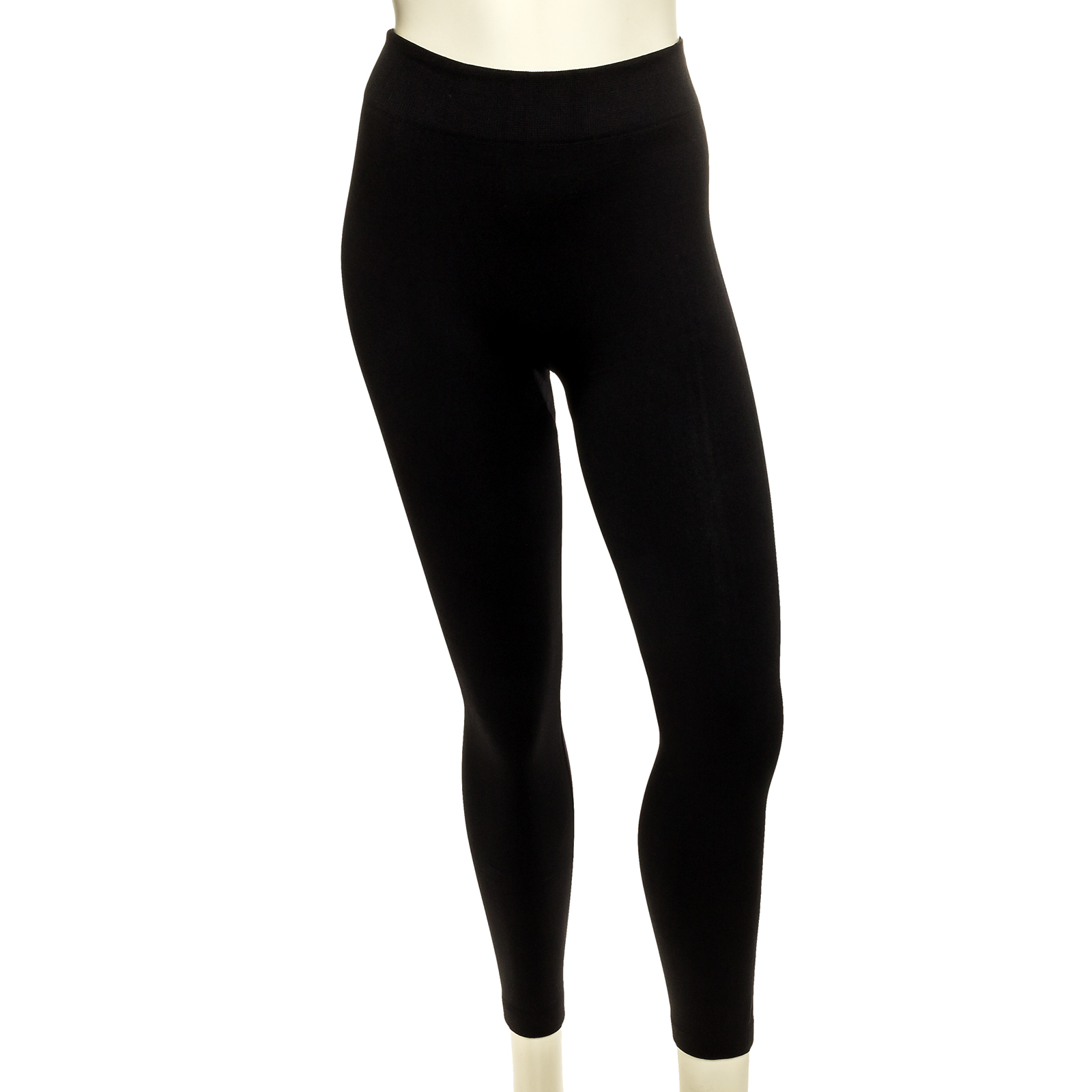 Yelete Womens Fleece Lined Seamless Leggings (Black, One Size) at Sears.com