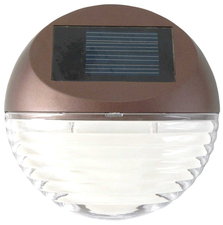 Moonrays 95027 Mini Solar Outdoor Garden LED Round Deck