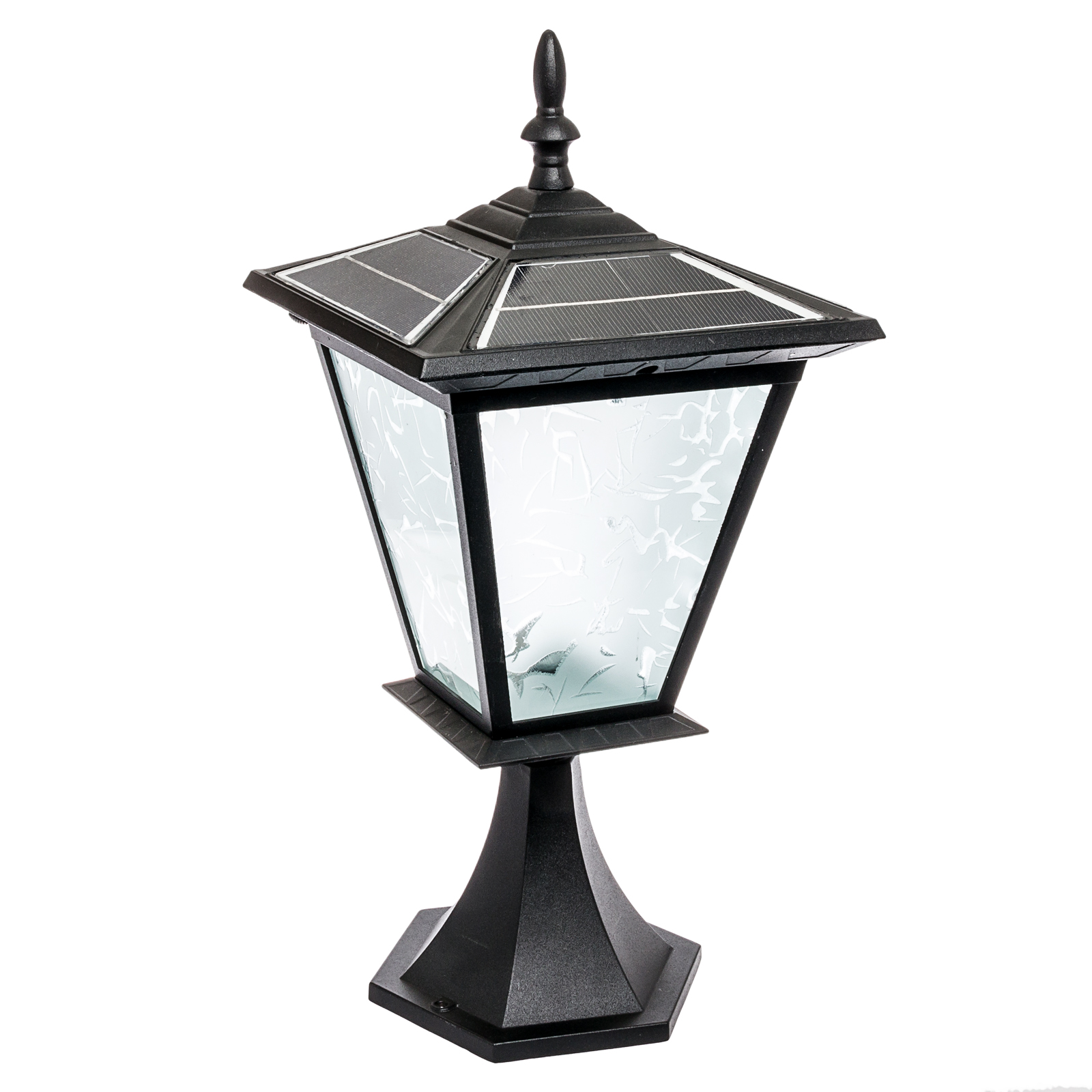 Outdoor Post Lights Led: Reusable Revolution 3 LED Solar Outdoor Garden Post Cap