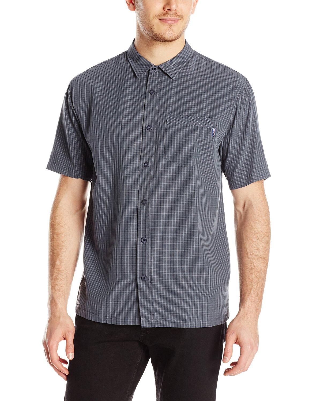 Oneill Mens Monsoon Casual Dress Button Up Short Sleeve Shirt