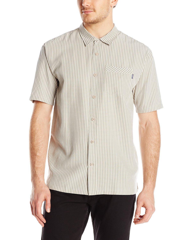 O 39 Neill Mens Monsoon Casual Dress Button Up Short Sleeve