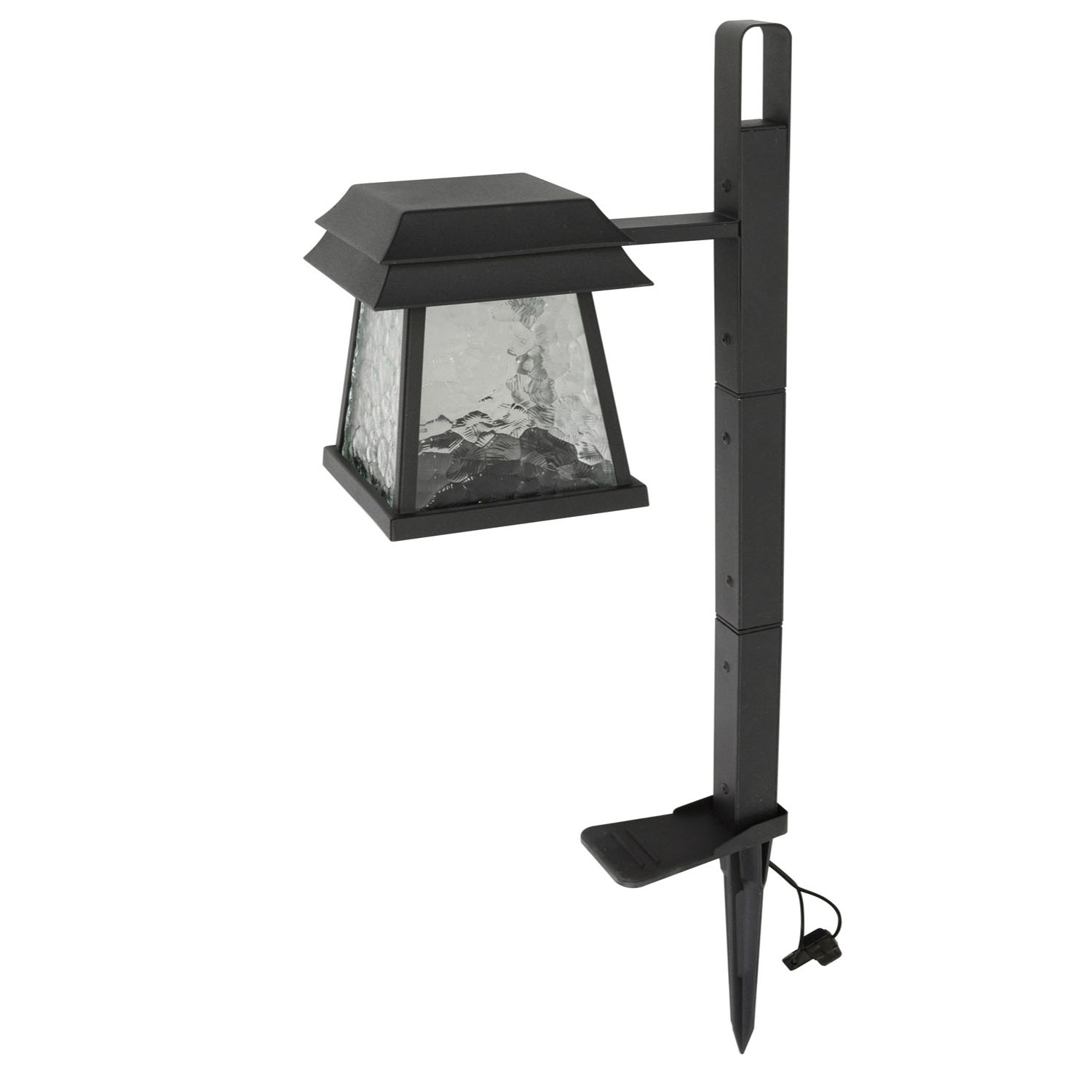 collection black low voltage led pathway stake light lamp ebay. Black Bedroom Furniture Sets. Home Design Ideas