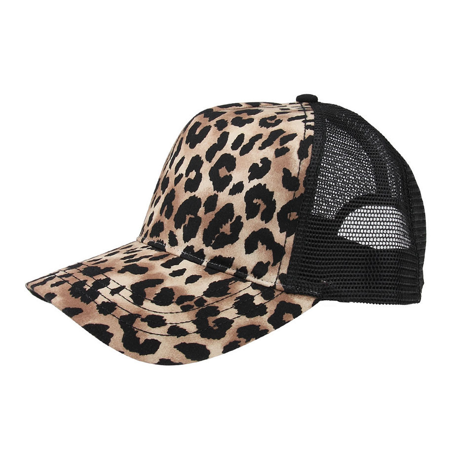 mega cap new womens animal print fashion trucker snap back