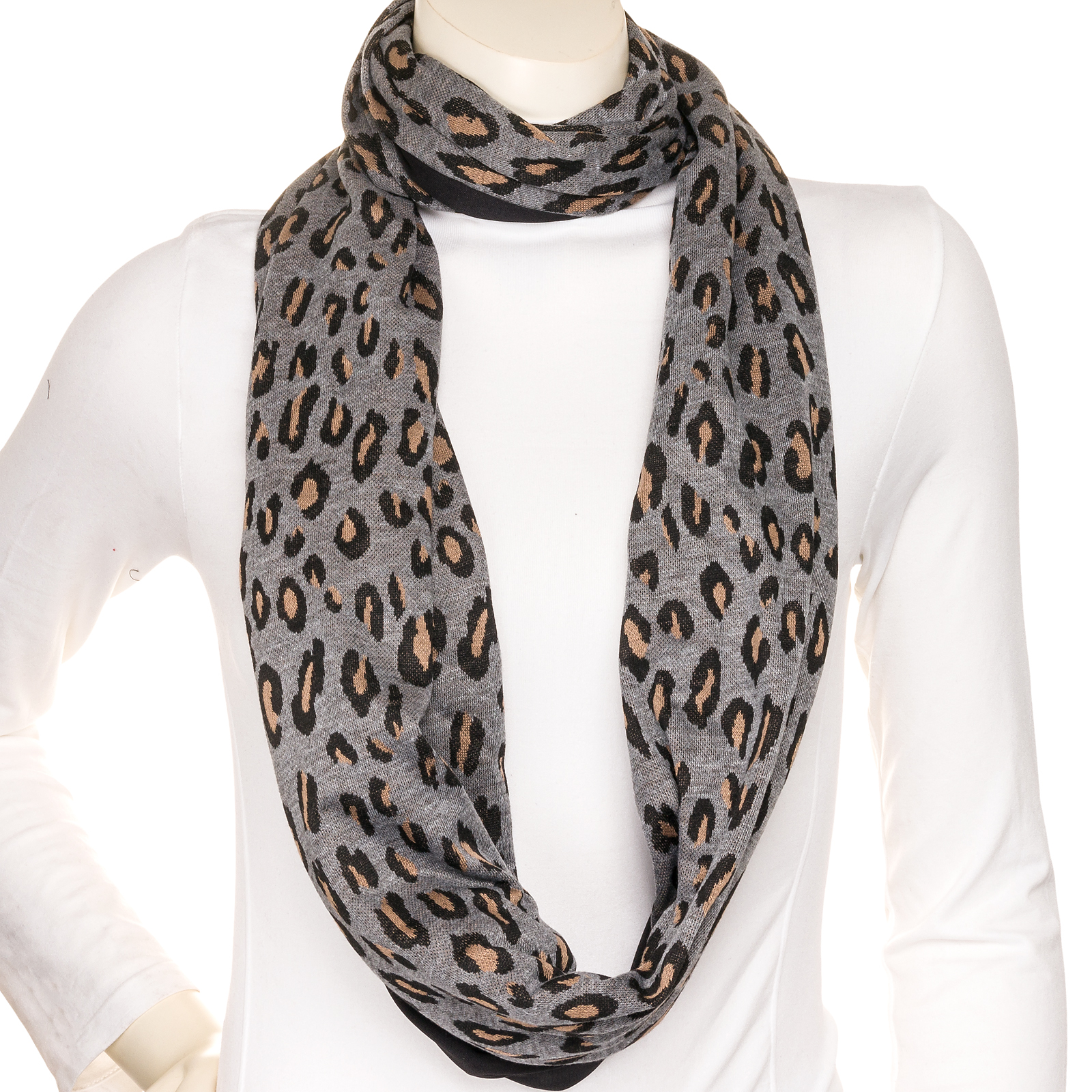 Sholdit women 39 s infinity clutch wrap purse travel neck shoulder scarf ebay for Travel scarf