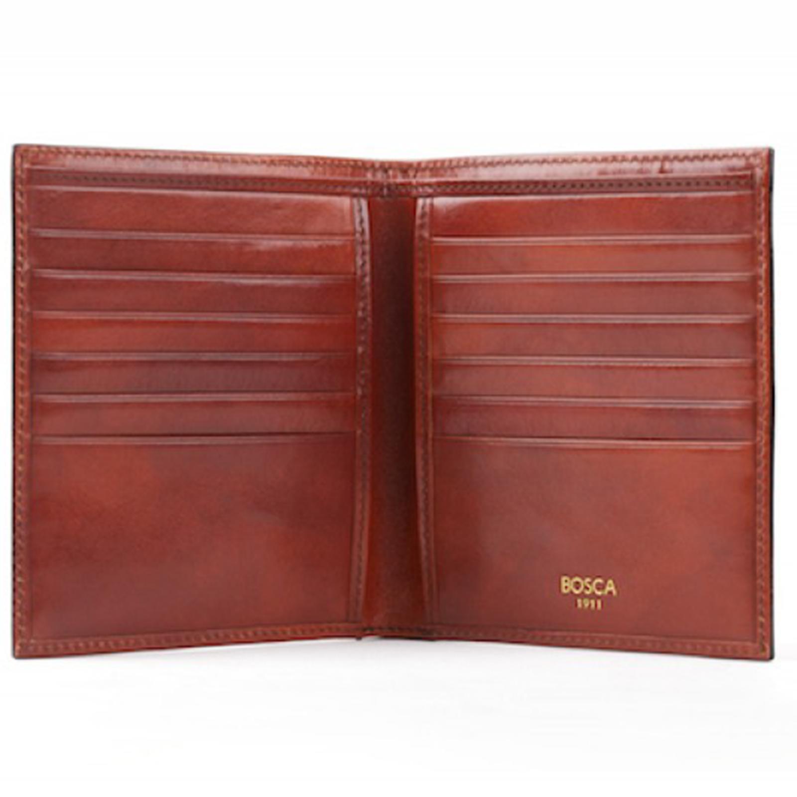 bosca leather coin purse
