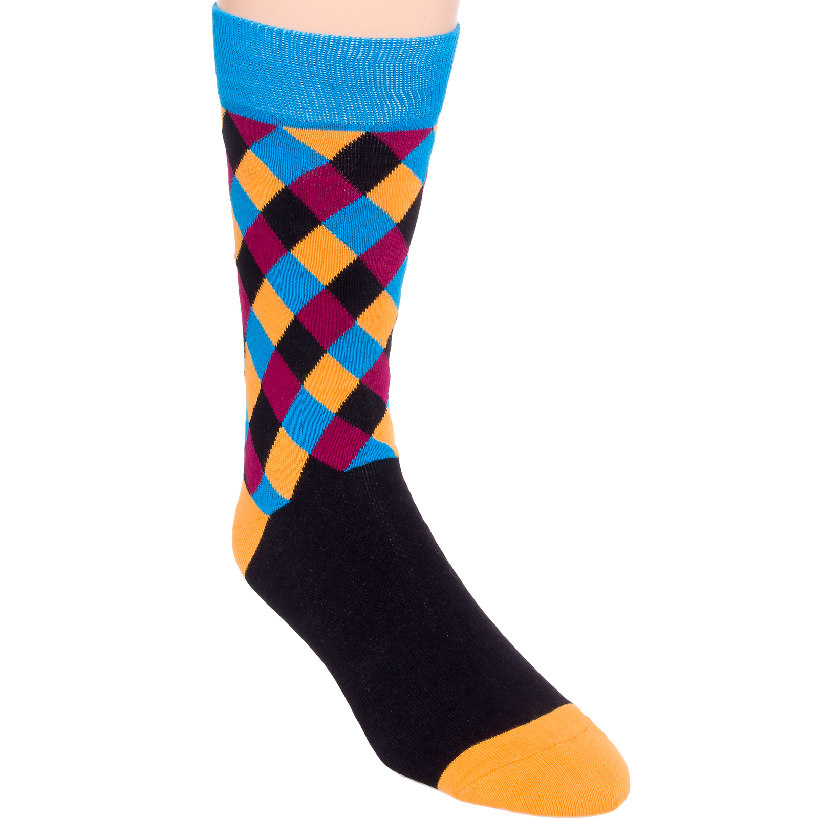 The most colorful men's socks in funky patterns and styles. Shop now for fun multi-colored socks from the top sock brands around the world.