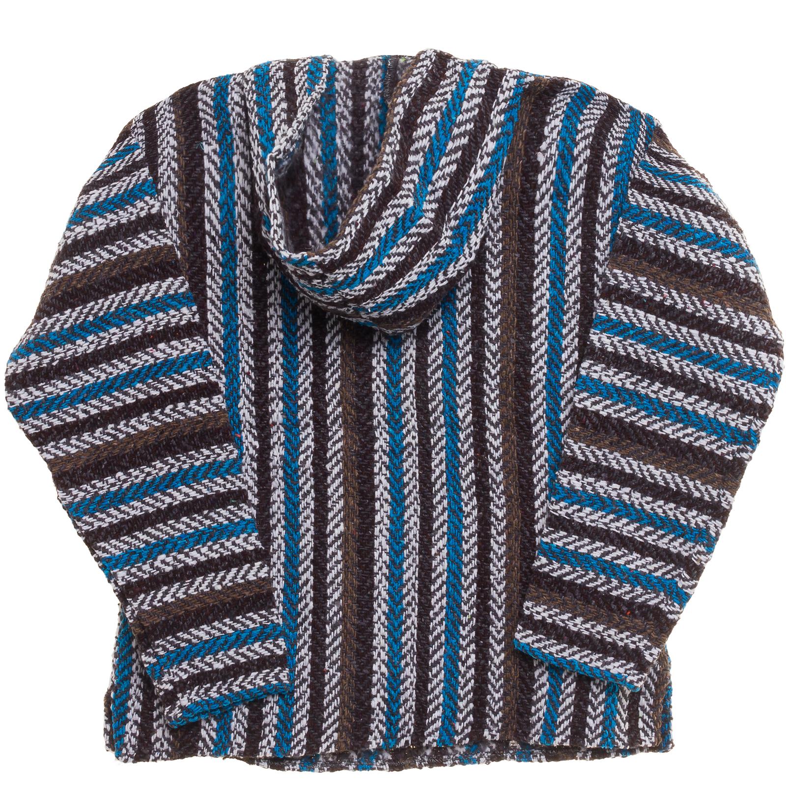 Baja poncho hoodie