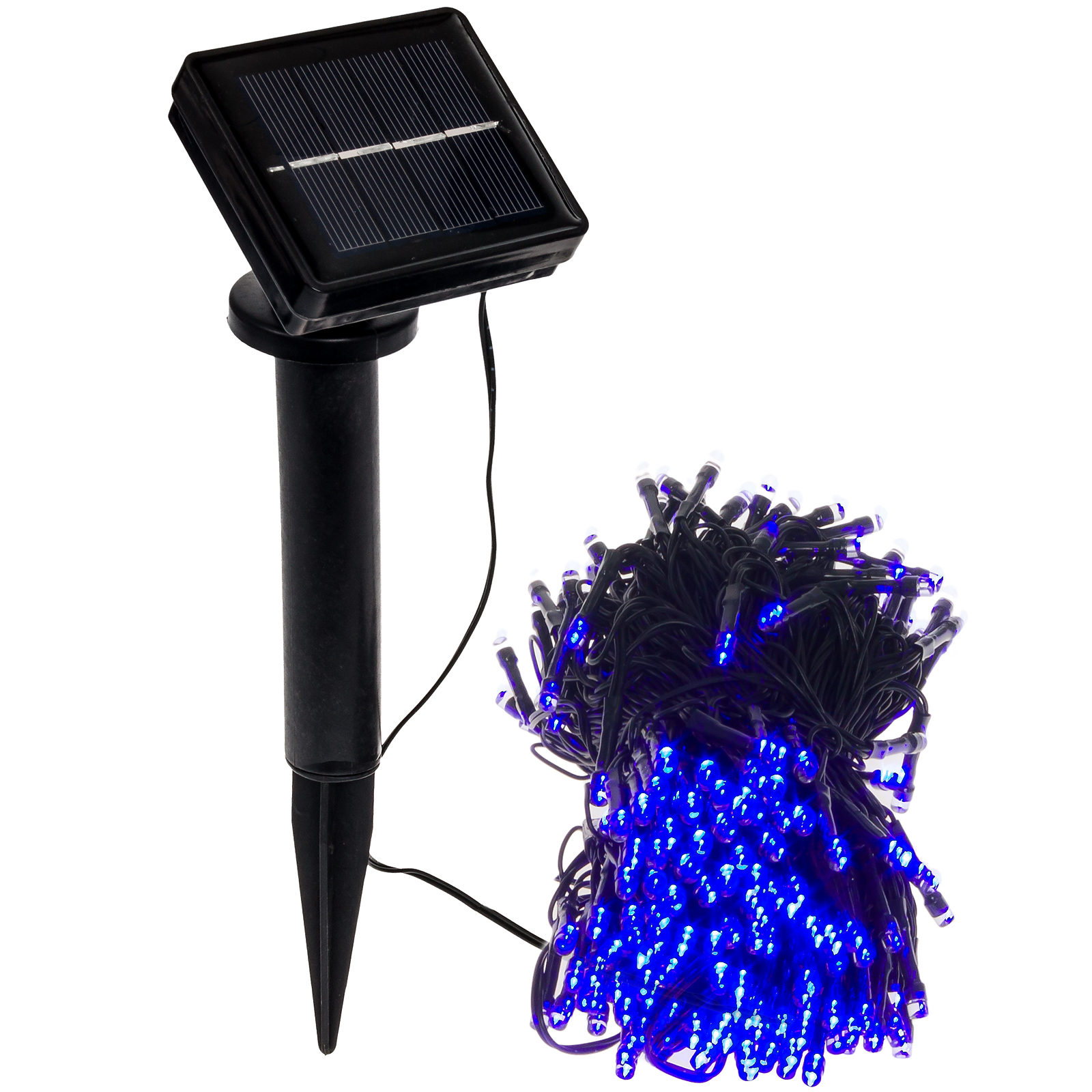250 Solar Led String Lights : GREENLIGHTING NEW 80 Foot Solar Holiday Rope String Lights w/ 250 Blue LED s eBay