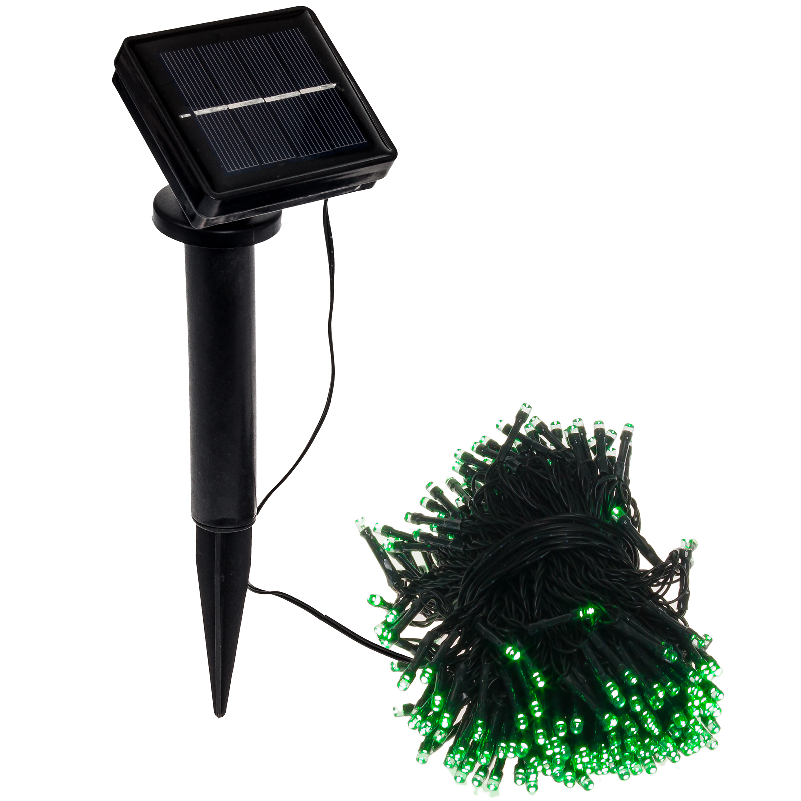 80 39 foot solar holiday rope string lights w 250 green led 39 s ebay