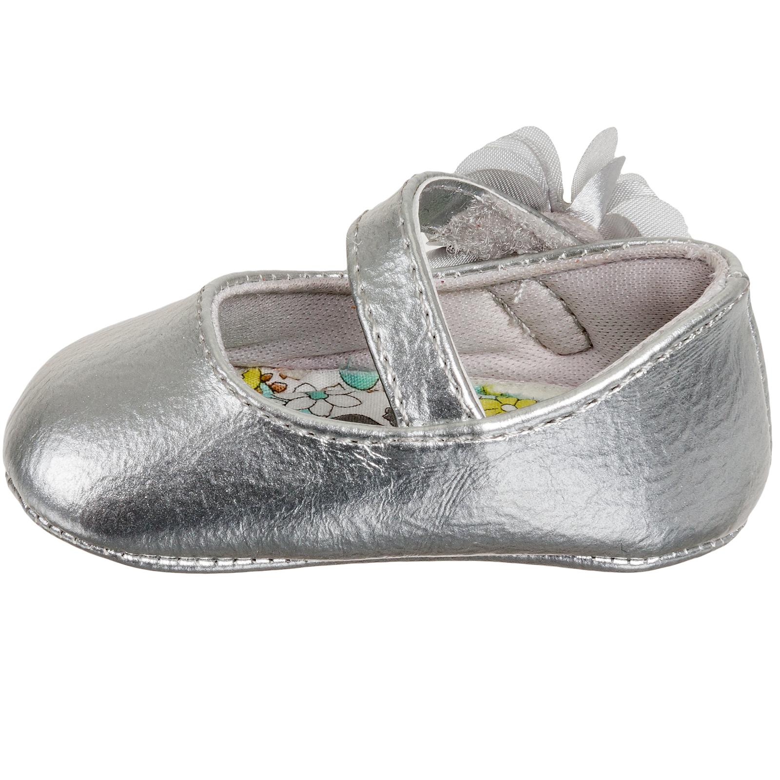 Baby Deer Girls Patent Skimmer Soft Sole Ballet Flat