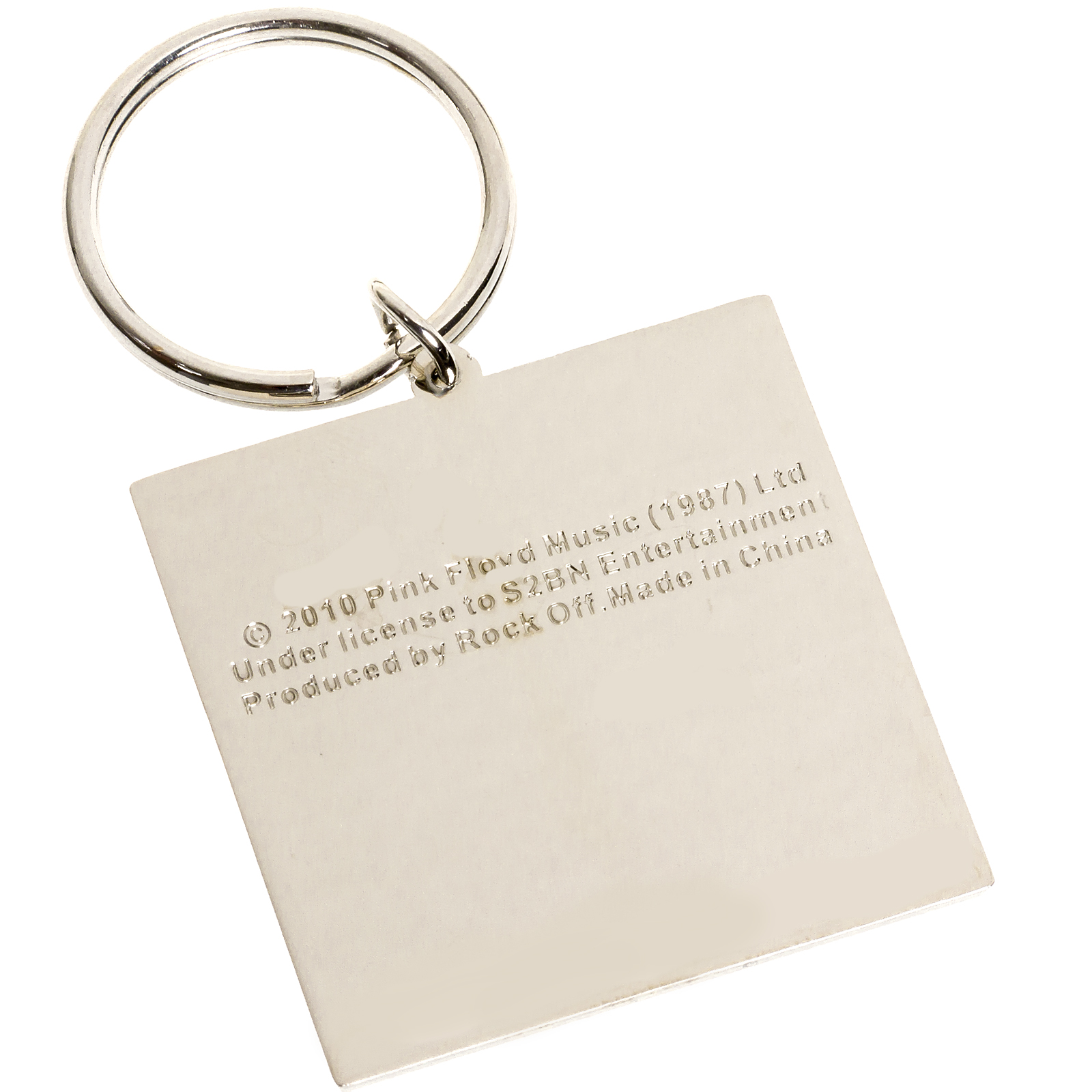 pink floyd band metal key chain ring ebay. Black Bedroom Furniture Sets. Home Design Ideas