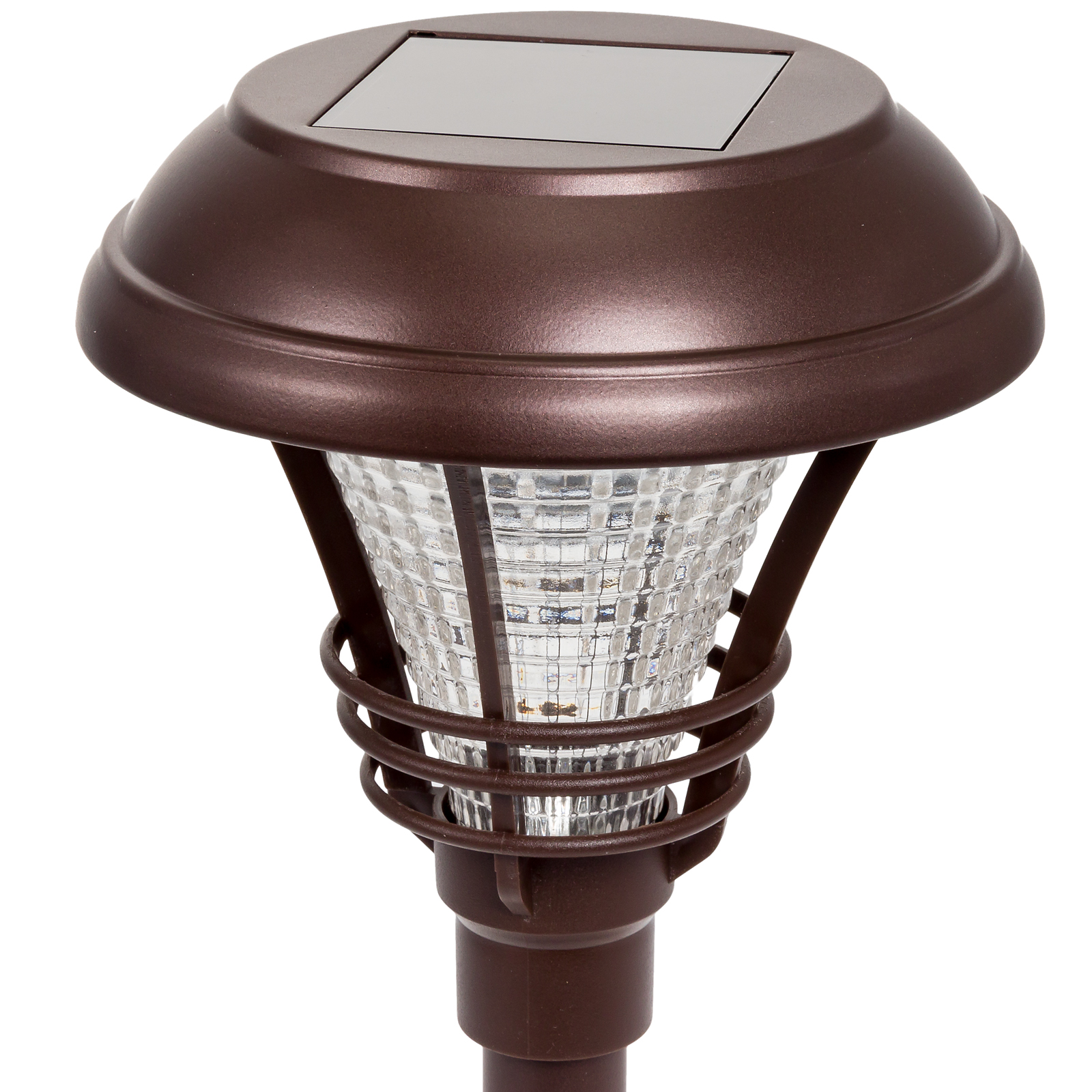 Westinghouse new kenbury solar garden 10 lumens led stake for Led walkway lights