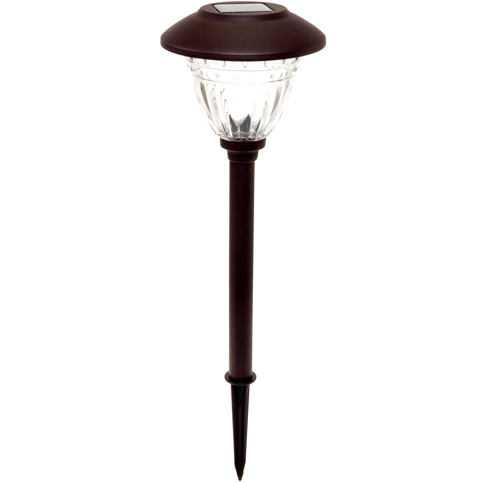 ENERGIZER NEW Stainless Steel LED Solar Stake Path Light
