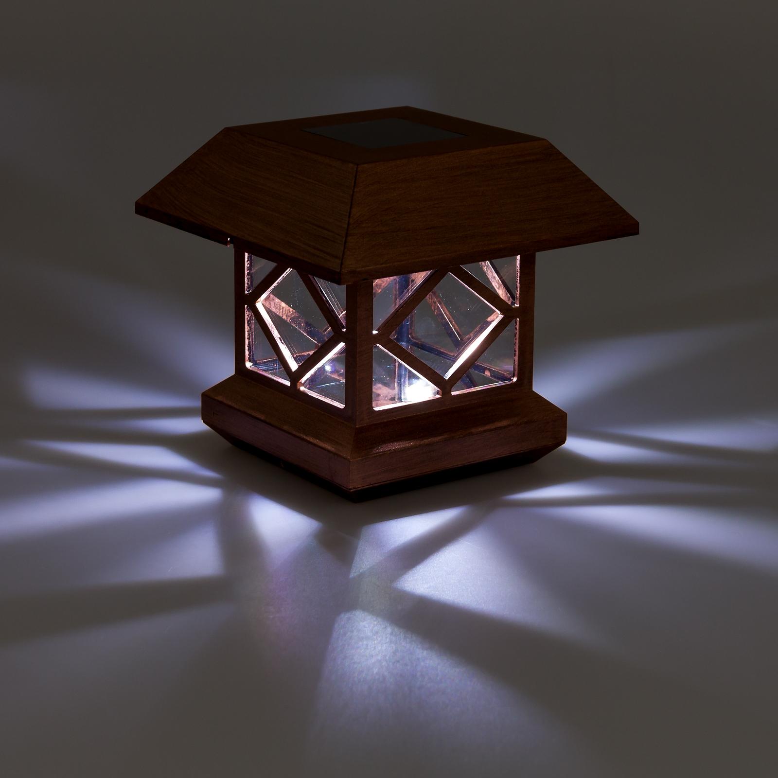 Solar Lights For Posts: GreenLighting Outdoor Summit Solar Post Cap Light For 4x4