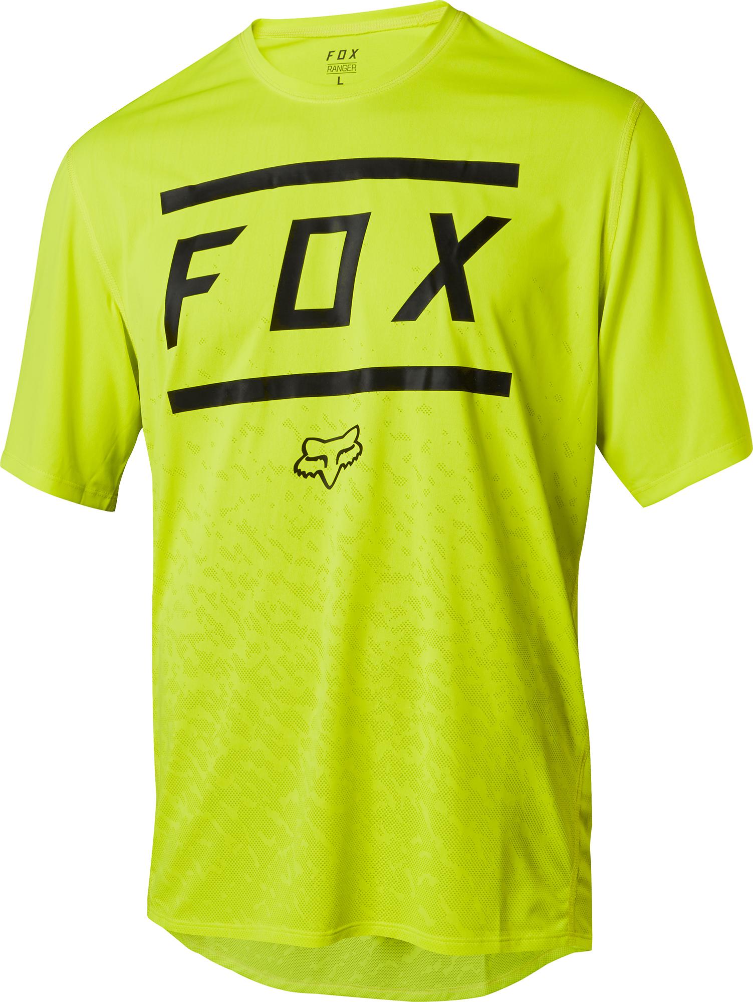 Fox Head Mens Ranger Bars Short Sleeve MTB Bike Cycling Jersey