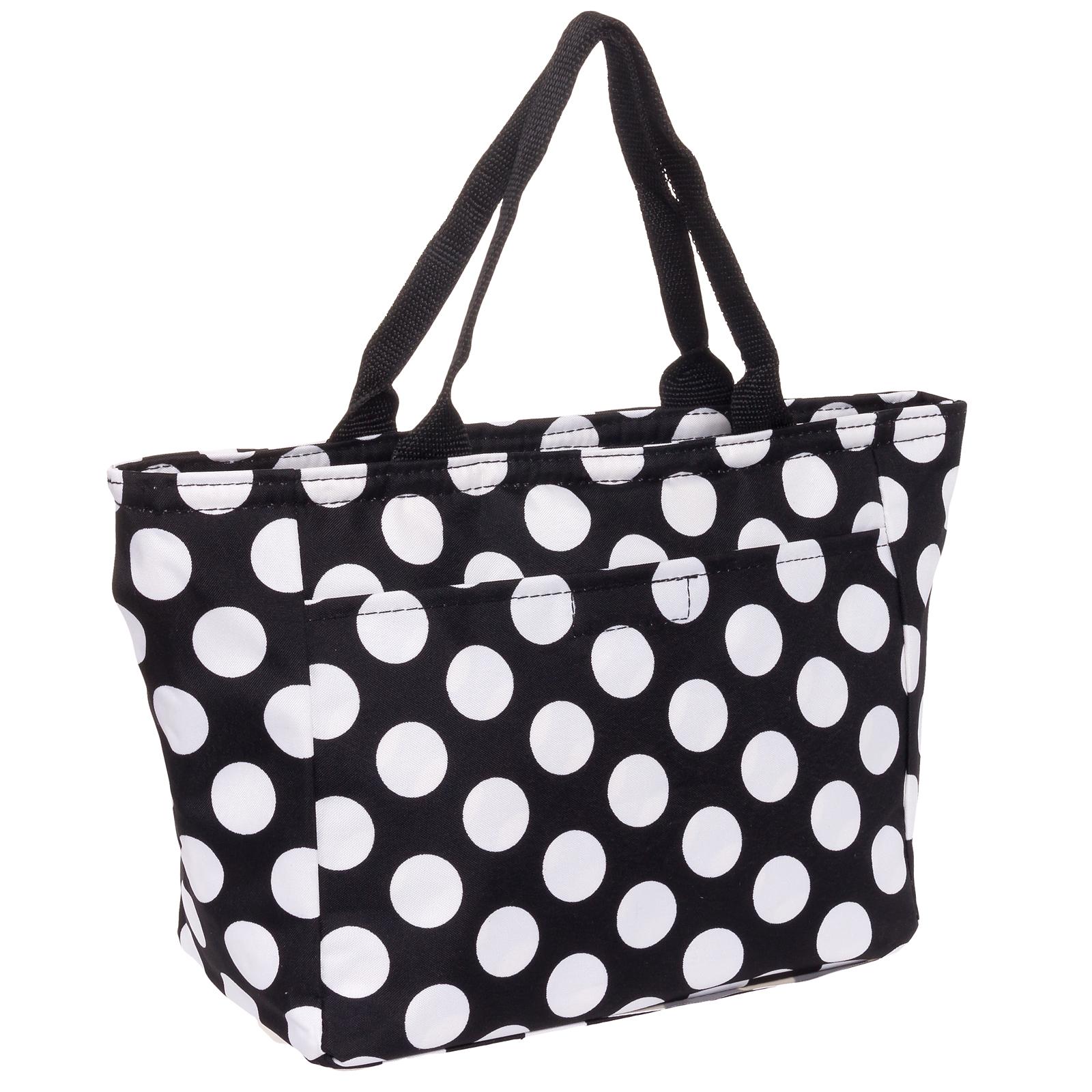 Beautiful Lunch Bag Insulated Women Lunch BagFabric Lunch Bag Gray