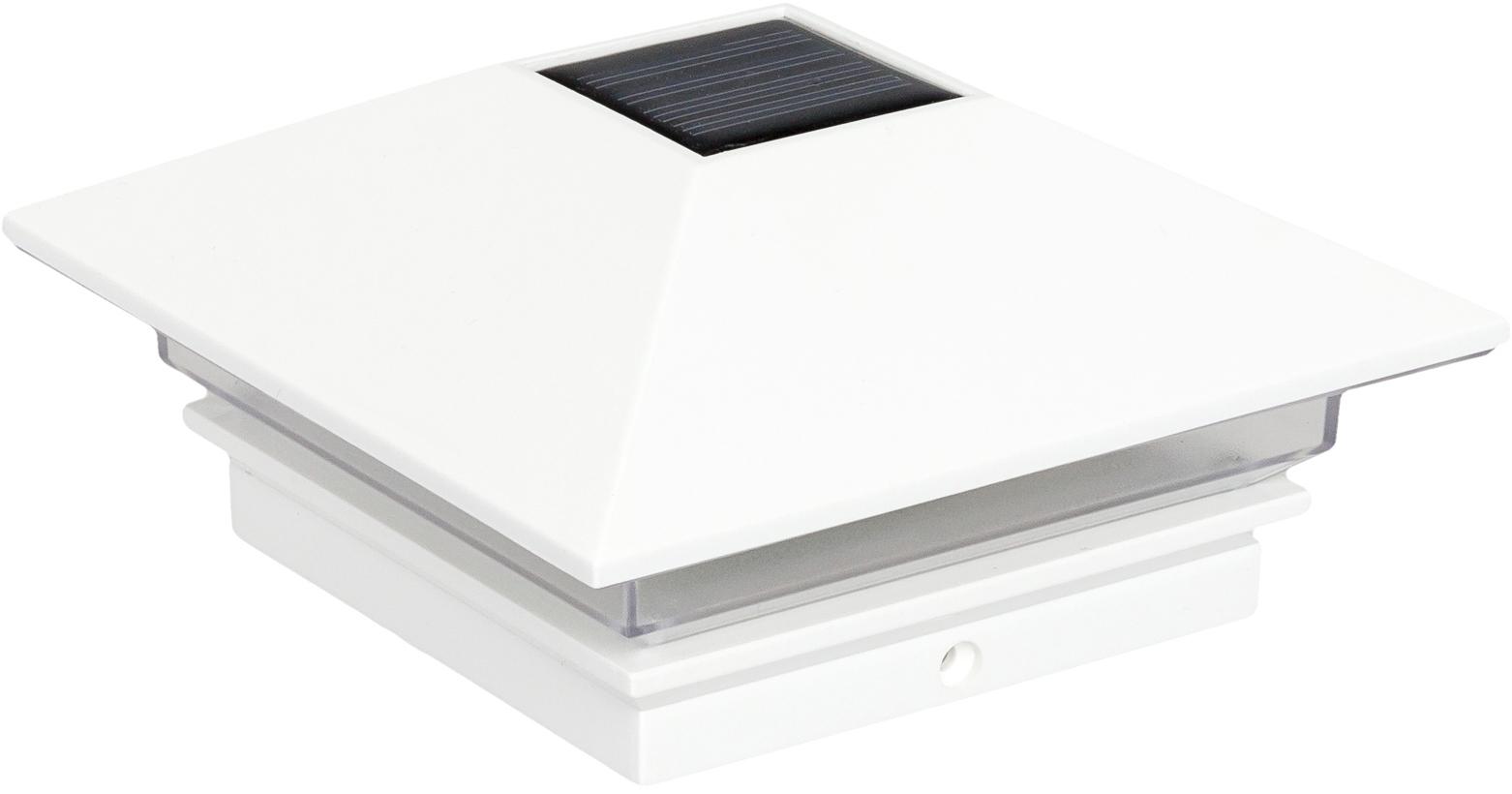 Greenlighting Nominal 4 X 4 Slim Solar Led Fence Post Cap