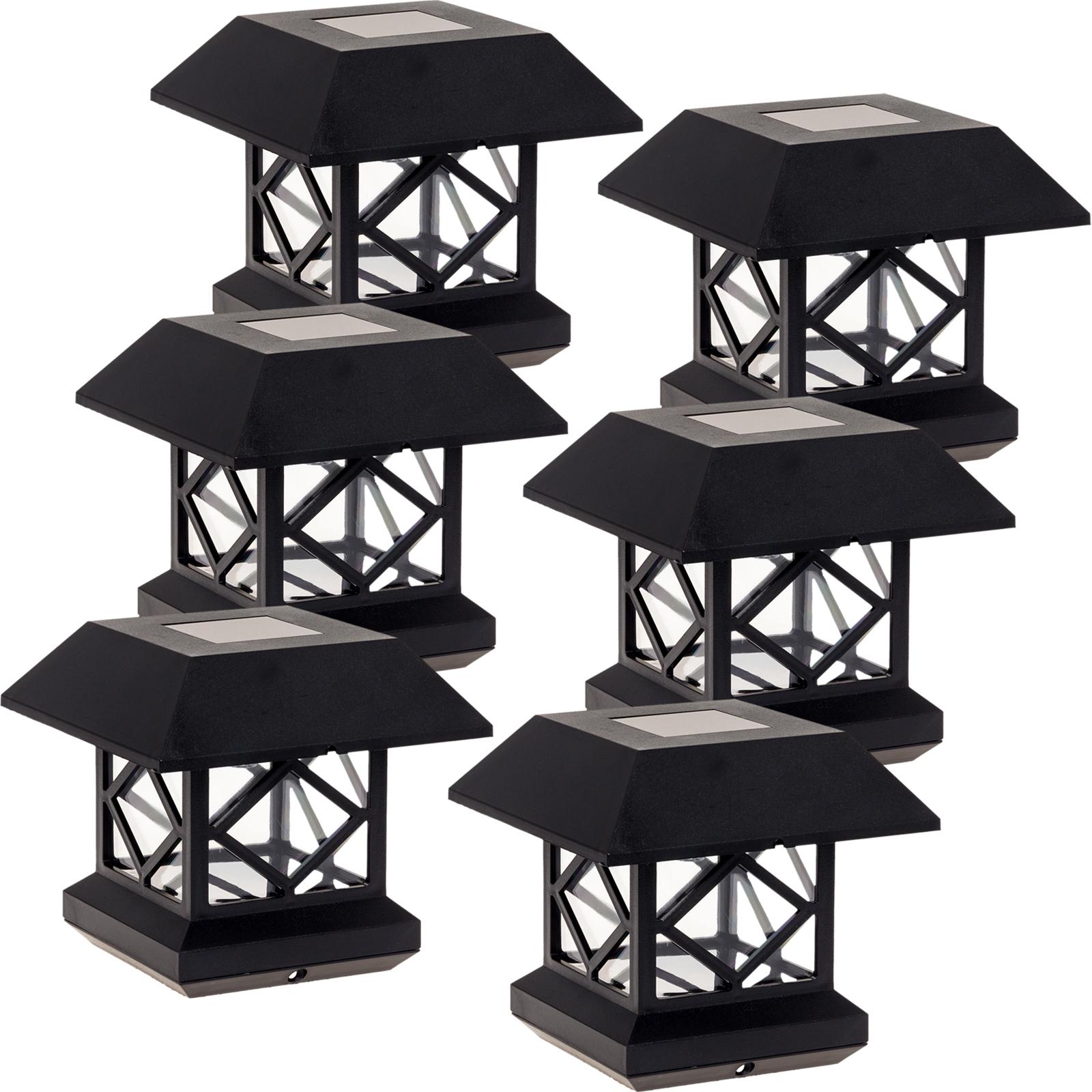 Outdoor Post Cap Lights: GreenLighting Outdoor Summit Solar Post Cap Light For 4x4
