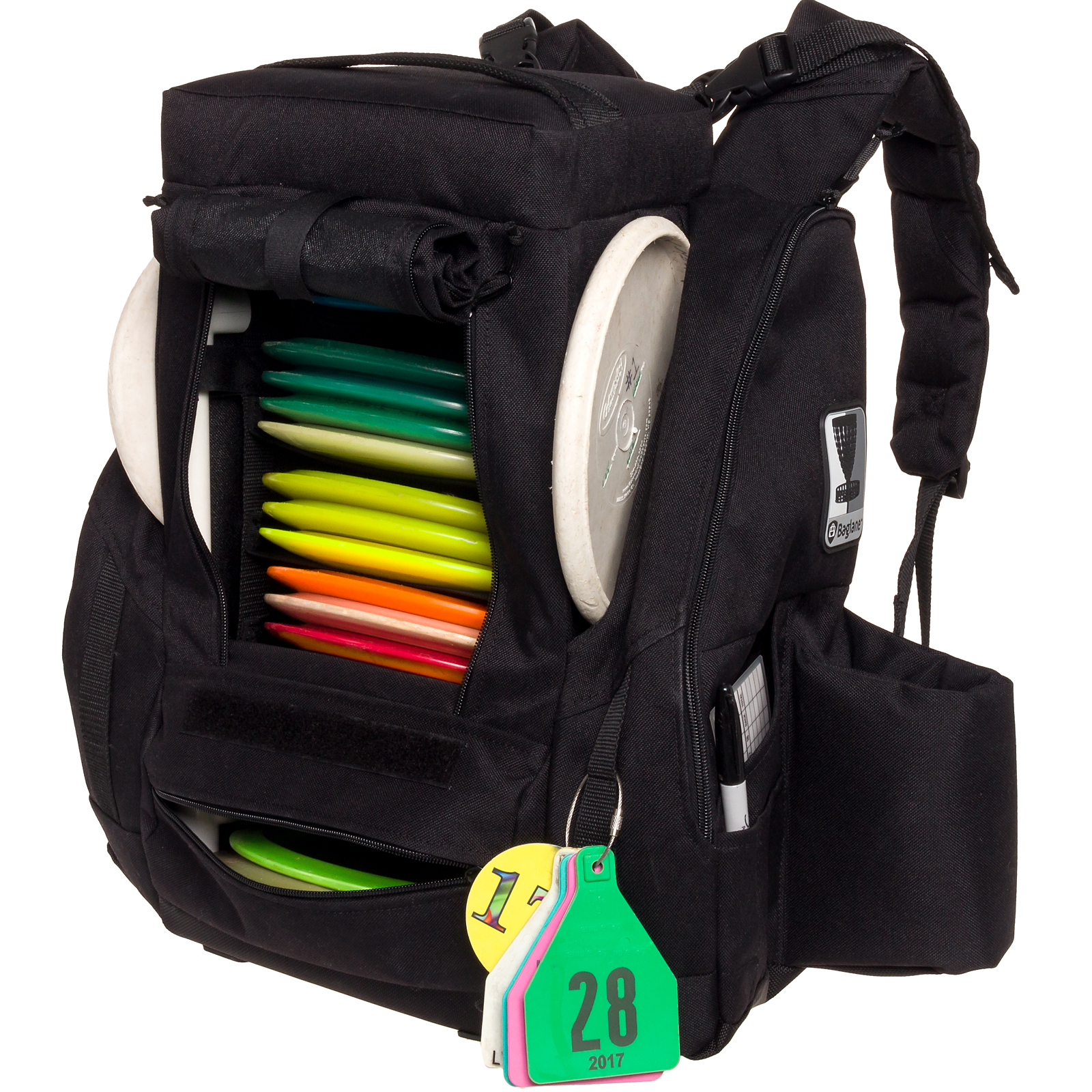 Keeps Discs Organized The Interior Of Fusion Pro Disc Golf Backpack Features A Cradle Style Rack Which Carries Stacked Vertically And
