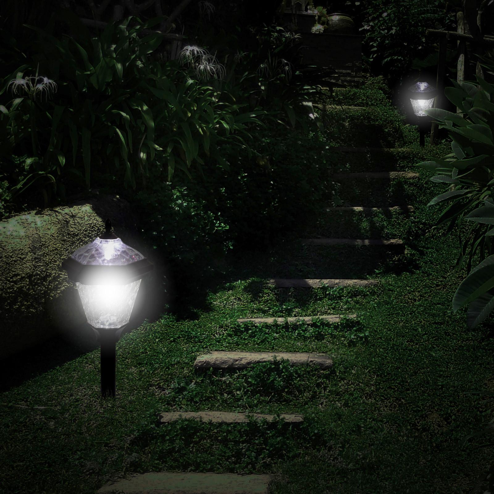 WESTINGHOUSE Adonia Aluminum Solar LED Pathway Path Light