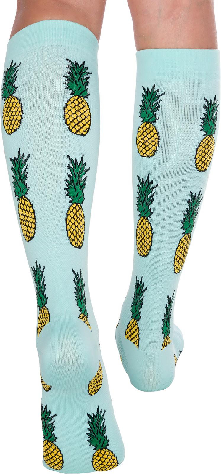 55872634ff7 Fun Running Compression Socks Graduated 15-25mmhg Colorful Knee High ...