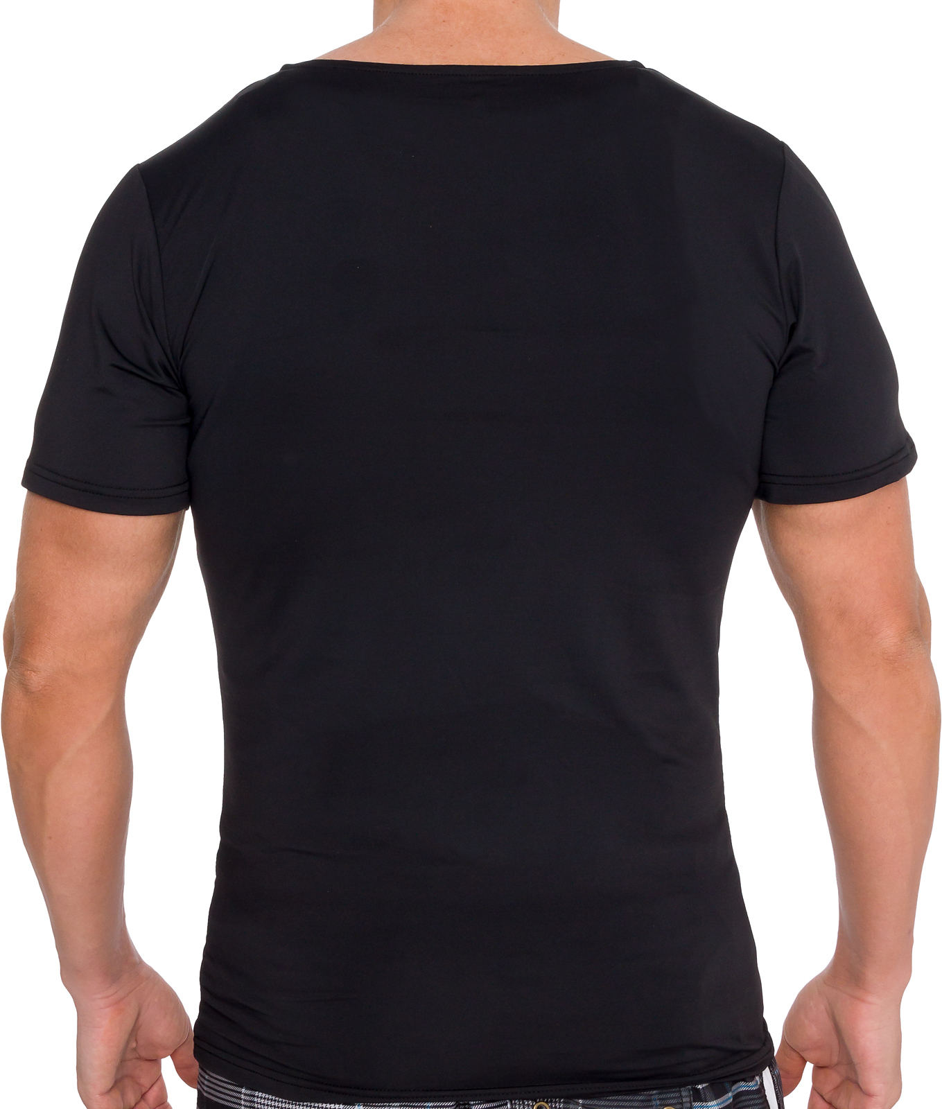 LISH-Men-039-s-Slimming-Compression-Body-Shaper-Gynecomastia-Undershirt thumbnail 10