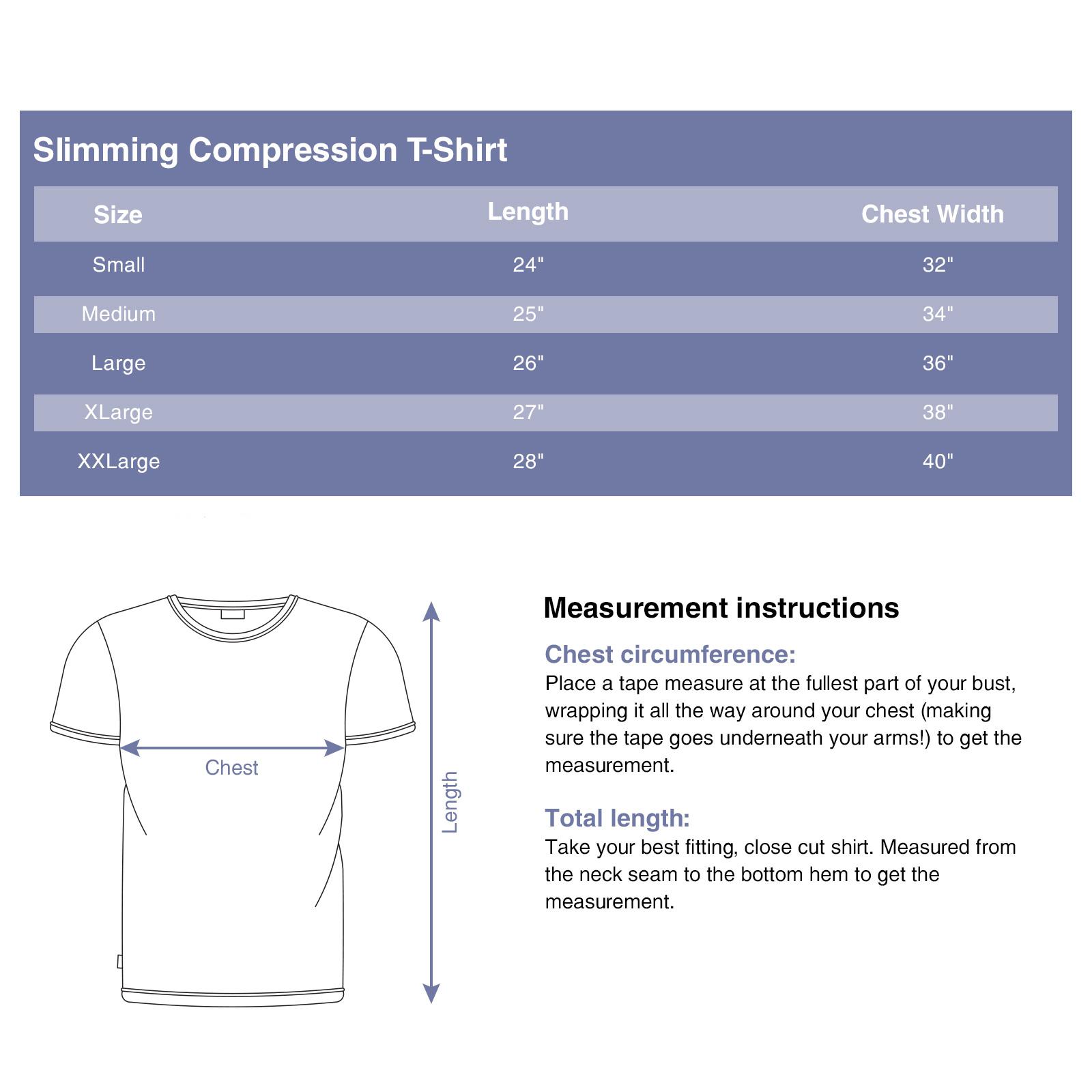 LISH-Men-039-s-Slimming-Compression-Body-Shaper-Gynecomastia-Undershirt thumbnail 14