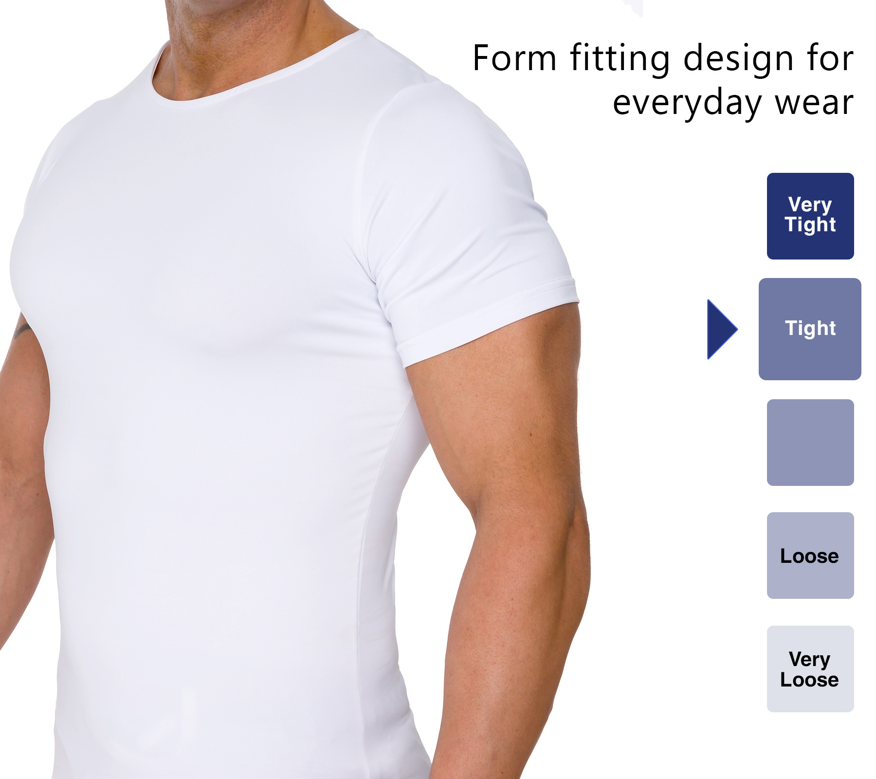 LISH-Men-039-s-Slimming-Compression-Body-Shaper-Gynecomastia-Undershirt thumbnail 23