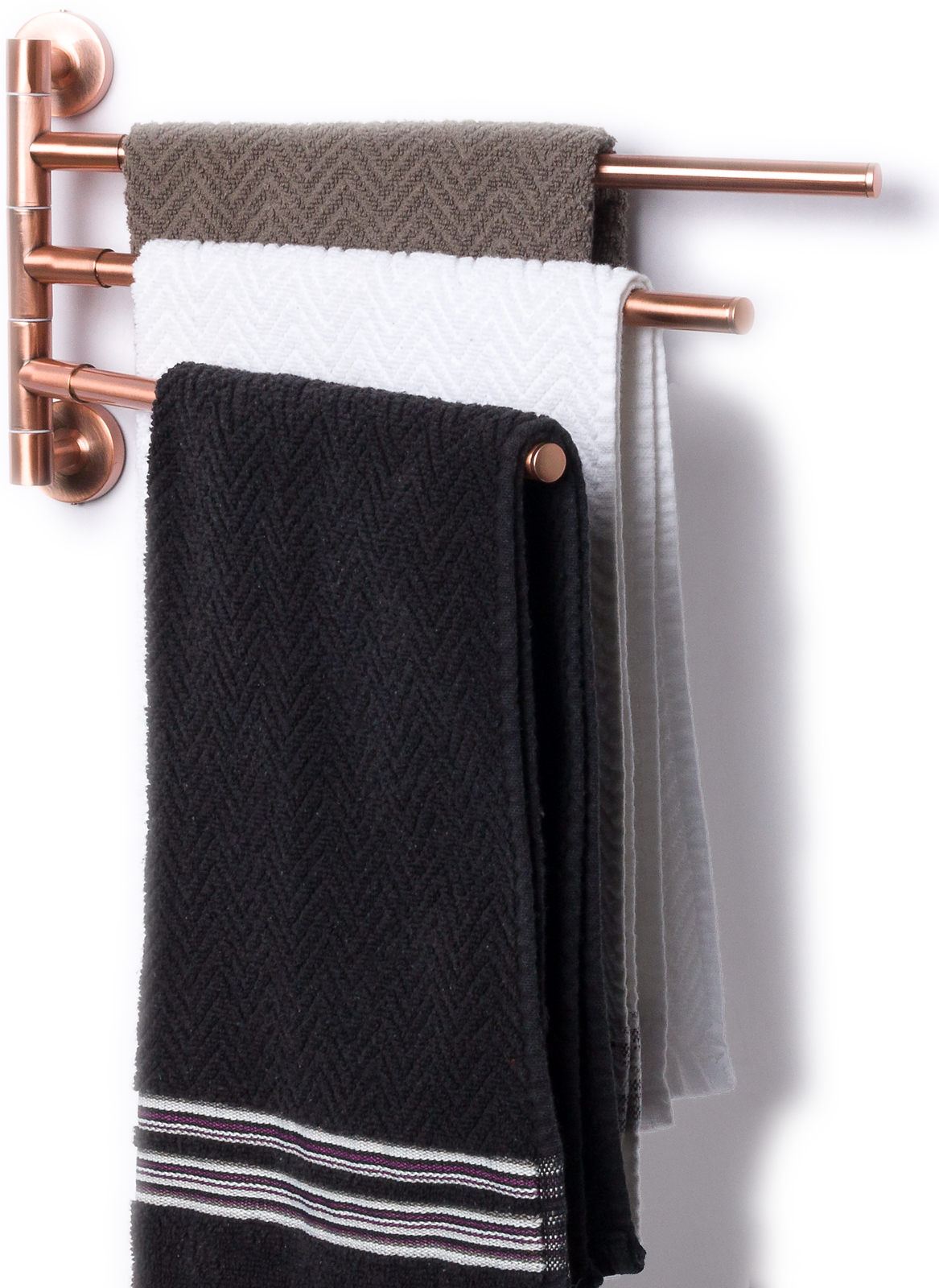 Rack swinging towel — 11