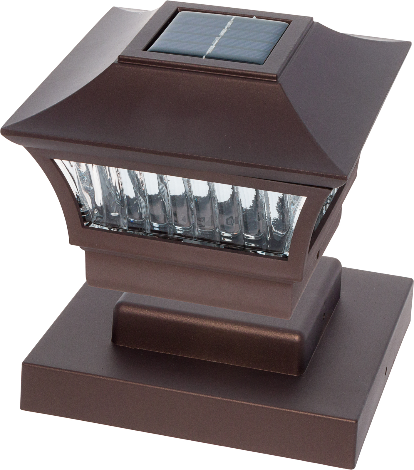 GreenLighting Aluminum Solar Post Cap Light