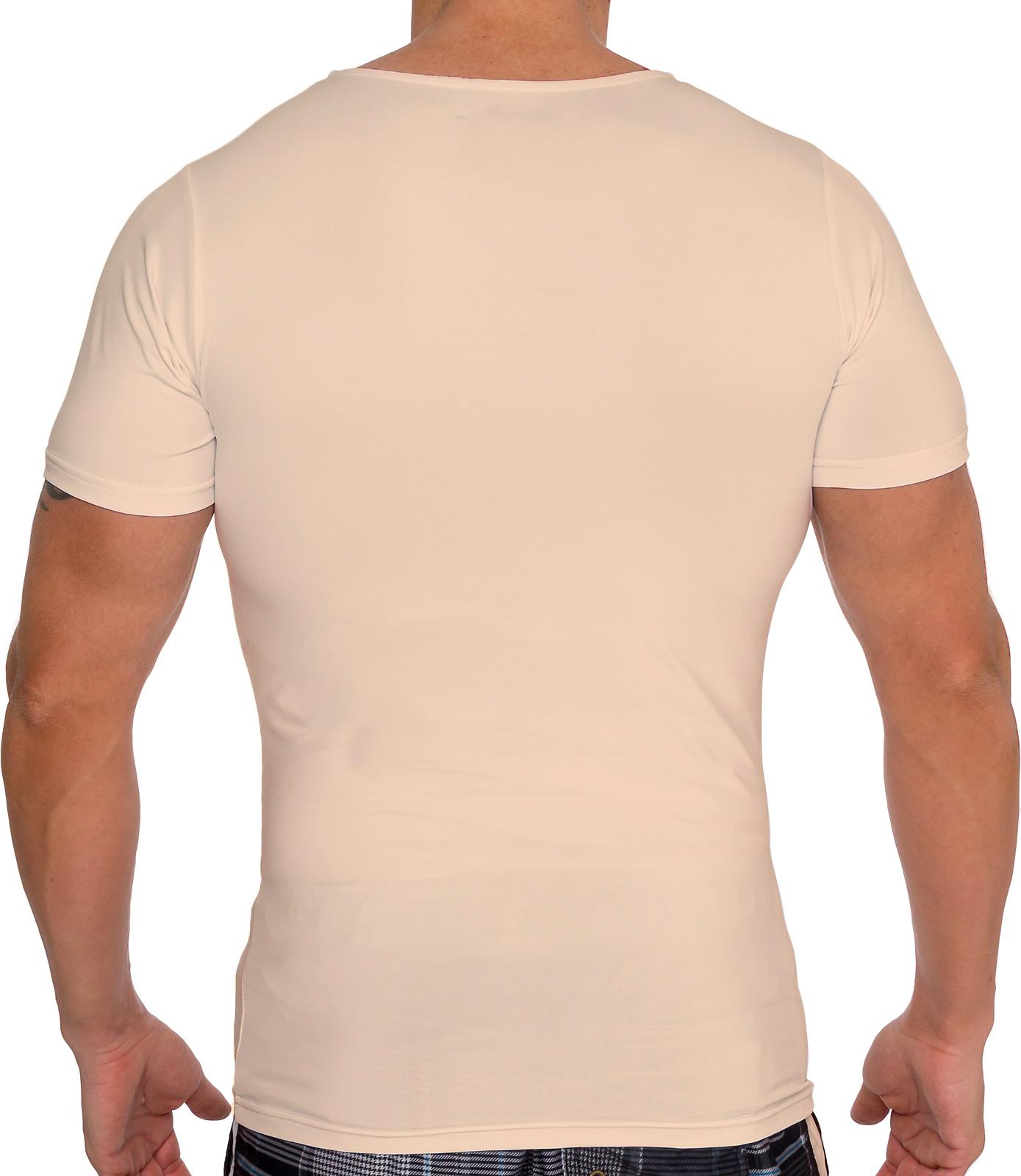 LISH-Men-039-s-Slimming-Compression-Body-Shaper-Gynecomastia-Undershirt thumbnail 17