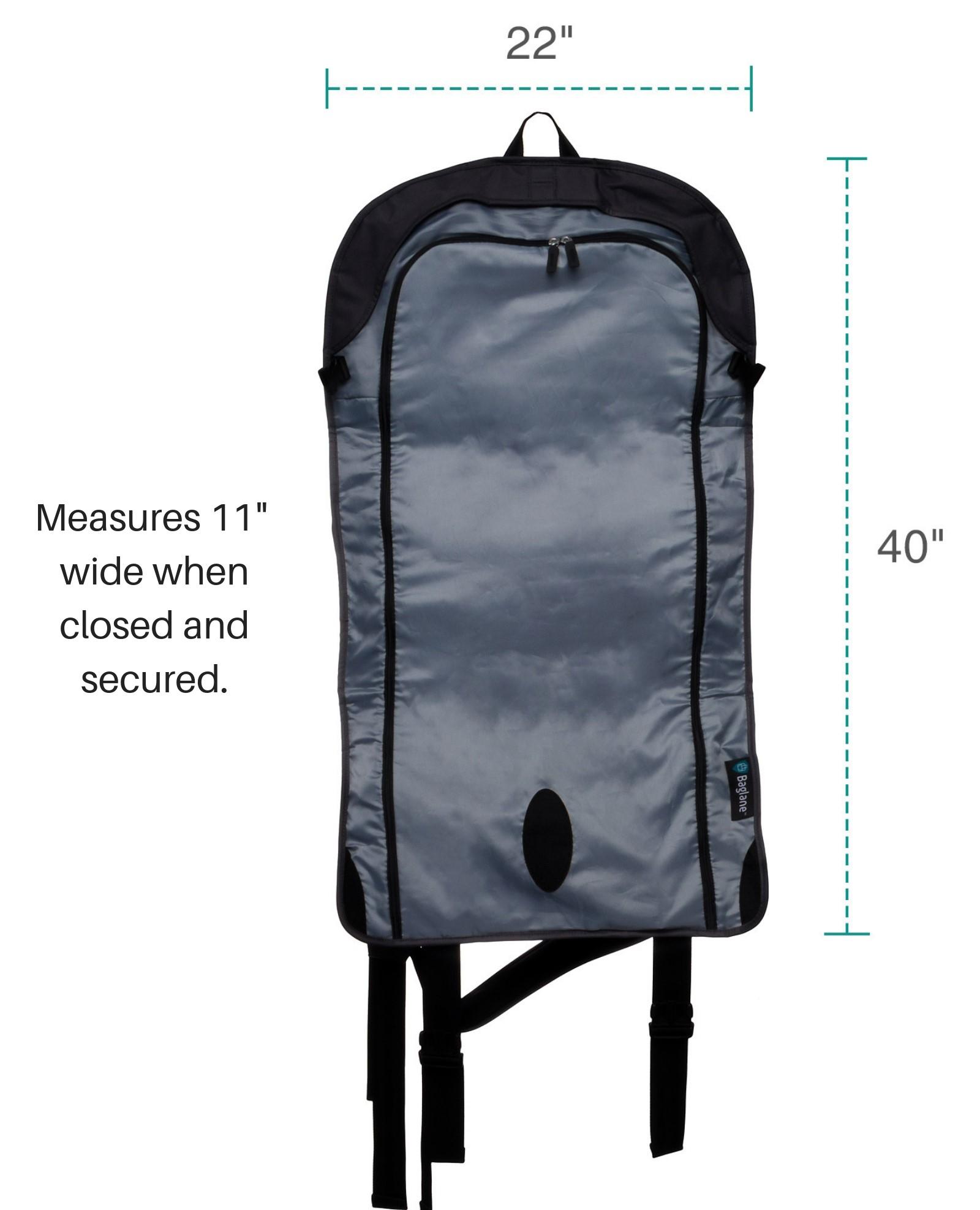 Baglane Canvas Hybrid Commuter Travel Backpack Carry On